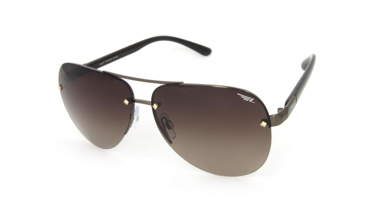 Очки поляризационные Legna, цвет: коричневый. S4509BINT-06501Стильные солнцезащитные очки Legna сделают приятной прогулку в жаркий солнечный полдень. Их также по достоинству оценят водители, так как эта модель очков оснащена уникальными поляризационными линзами, которые задерживают раздражающие блики, что гарантирует полный зрительный комфорт и, как результат, повышенную безопасность. Высокоэффективный встроенный УФ фильтр обеспечивает совершенную защиту от вредных ультрафиолетовых лучейКроме того, это эффектный аксессуар, который наверняка станет «изюминкой» вашего индивидуального стиля. Оправа не только красивая, но и прочная, а линзы со временем не покроются мелкими царапинами. Чистка и обслуживание:Вымыть теплой водой, вытереть мягкой сухой салфеткой. Условия хранения: в футляре при нормальных климатических условиях.Предупреждение:Не использовать в солярии, не смотреть на прямые солнечные лучи, не использовать при управлении автомобилем в сумерках и ночью.
