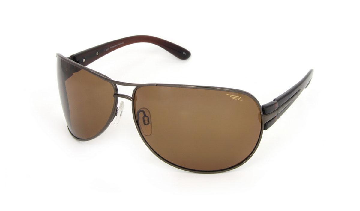 Очки поляризационные Legna, цвет: коричневый. S7210BINT-06501Стильные солнцезащитные очки Legna сделают приятной прогулку в жаркий солнечный полдень. Их также по достоинству оценят водители, так как эта модель очков оснащена уникальными поляризационными линзами, которые задерживают раздражающие блики, что гарантирует полный зрительный комфорт и, как результат, повышенную безопасность. Высокоэффективный встроенный УФ фильтр обеспечивает совершенную защиту от вредных ультрафиолетовых лучейКроме того, это эффектный аксессуар, который наверняка станет «изюминкой» вашего индивидуального стиля. Оправа не только красивая, но и прочная, а линзы со временем не покроются мелкими царапинами. Чистка и обслуживание:Вымыть теплой водой, вытереть мягкой сухой салфеткой. Условия хранения: в футляре при нормальных климатических условиях.Предупреждение:Не использовать в солярии, не смотреть на прямые солнечные лучи, не использовать при управлении автомобилем в сумерках и ночью.