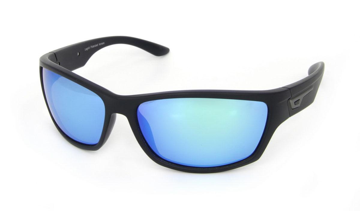 Очки поляризационные Legna, цвет: черный, голубой. S7500BINT-06501Стильные солнцезащитные очки Legna сделают приятной прогулку в жаркий солнечный полдень. Их также по достоинству оценят водители, так как эта модель очков оснащена уникальными поляризационными линзами, которые задерживают раздражающие блики, что гарантирует полный зрительный комфорт и, как результат, повышенную безопасность. Высокоэффективный встроенный УФ фильтр обеспечивает совершенную защиту от вредных ультрафиолетовых лучейКроме того, это эффектный аксессуар, который наверняка станет «изюминкой» вашего индивидуального стиля. Оправа не только красивая, но и прочная, а линзы со временем не покроются мелкими царапинами. Чистка и обслуживание:Вымыть теплой водой, вытереть мягкой сухой салфеткой. Условия хранения: в футляре при нормальных климатических условиях.Предупреждение:Не использовать в солярии, не смотреть на прямые солнечные лучи, не использовать при управлении автомобилем в сумерках и ночью.
