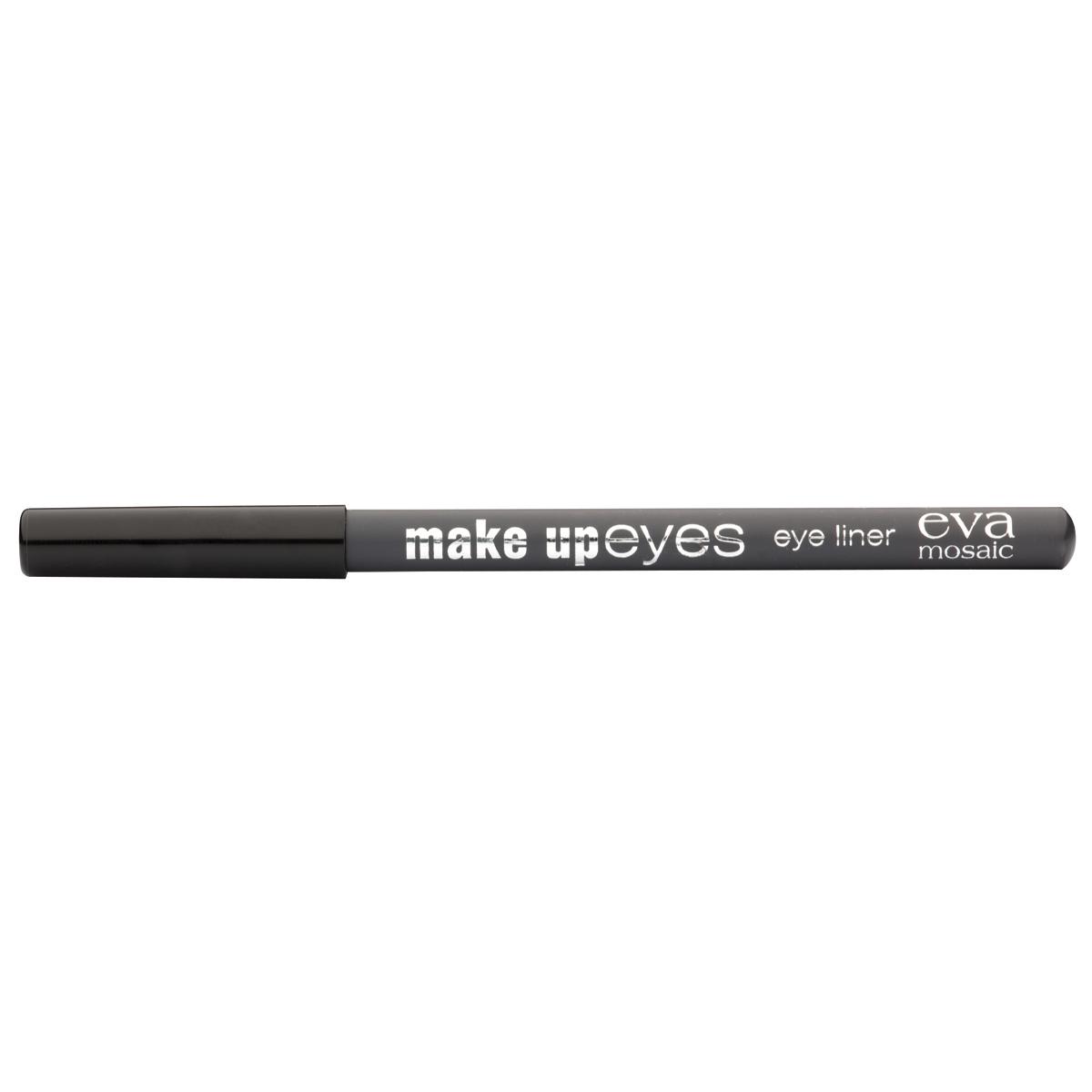 Eva Mosaic Карандаш для глаз Make Up Eyes, 1,1 г, Серый28032022Мягкий карандаш для глаз позволяет создавать контур необходимой четкости - от графической точности до мягкой плавности растушеванных линий, придающих взгляду эффект дымчатости. - стойкая формула - натуральные ингредиенты (пчелиный воск, хлопковое, касторовое и арахисовое масла) - три оттенка для разных типов внешности
