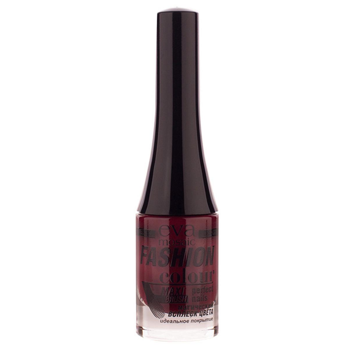 Eva Mosaic Лак для ногтей Fashion Colour, 6 мл, 040 Черешня