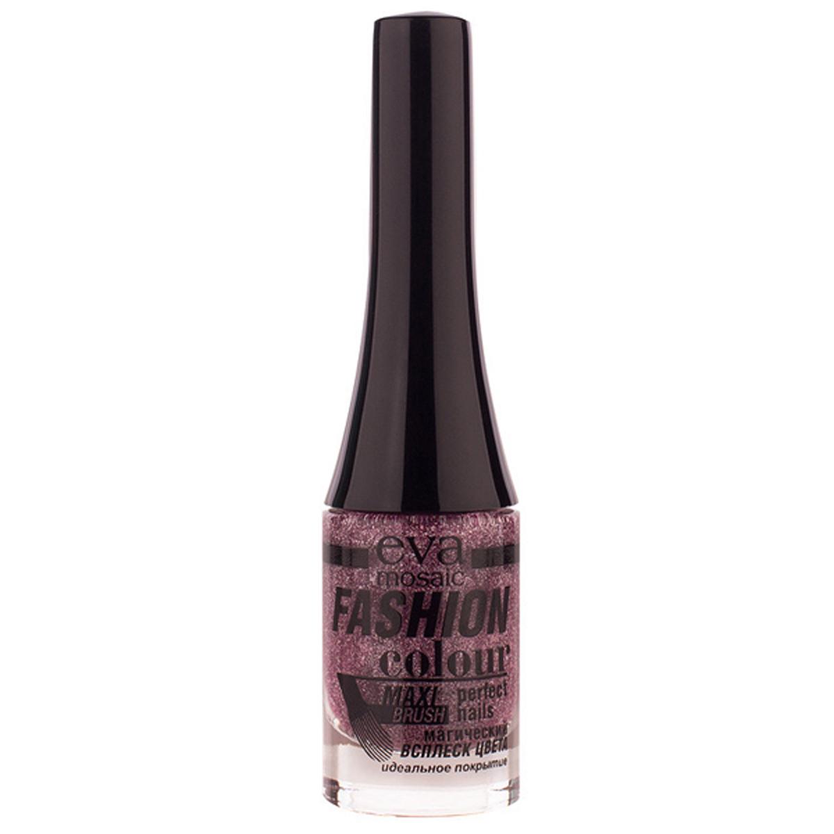 Eva Mosaic Лак для ногтей Fashion Colour, 6 мл, 062 Розовая Радуга