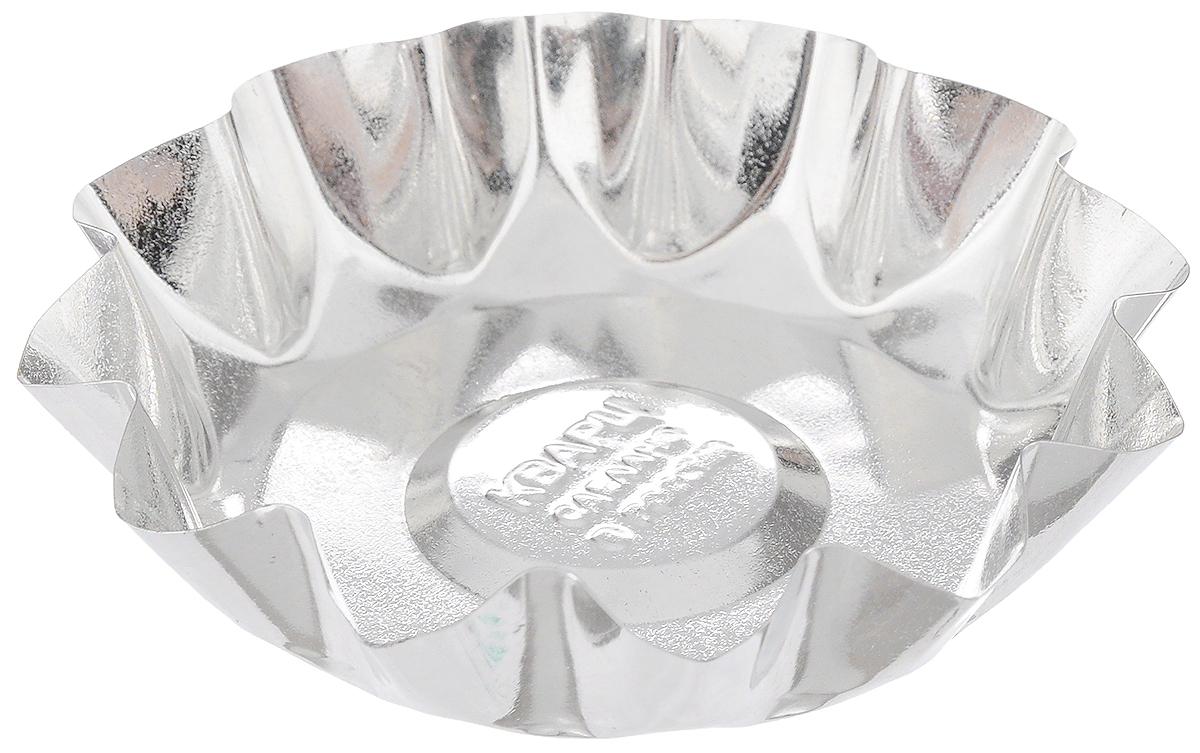 Форма для выпечки Кварц, диаметр 10 см68/5/3Форма Кварц, выполненная из белой жести, предназначена для выпечки и приготовления желе. Стенки изделия рельефные.С формой Кварц вы всегда сможете порадовать своих близких оригинальной выпечкой.Размер формы (по верхнему краю): 10 х 10 см.Высота формы: 2 см.