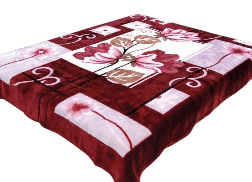 Плед Tamerlan, нестриженый, цвет: розовый, 160 х 210 см. 61392CLP446плотность 510 гр/м2