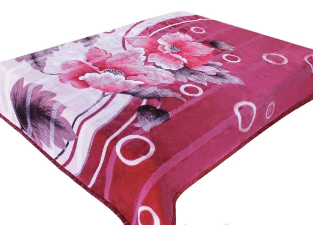 Плед ТД Текстиль Tamerlan, нестриженый, цвет: розовый, 200 х 240 см. 63505lns184941Плед Tamerlan - это идеальное решение для вашегоинтерьера! Он порадует вас легкостью, нежностью иоригинальным дизайном! Плед выполнен из 100% полиэстера с нестриженым ворсом и оформлен цветочным изображением. Полиэстер считается одной из самых популярных тканей.Это материал синтетического происхождения из полиэфирныхволокон. Внешне такая ткань схожа с шерстью, а по свойствамблизка к хлопку. Изделия из полиэстера не мнутся и легкостираются. После стирки очень быстро высыхают.Плед - это такой подарок, который будет всегда актуален,особенно для ваших родных и близких, ведь вы дарите имчастичку своего тепла!Плотность: 440 гр/м2.