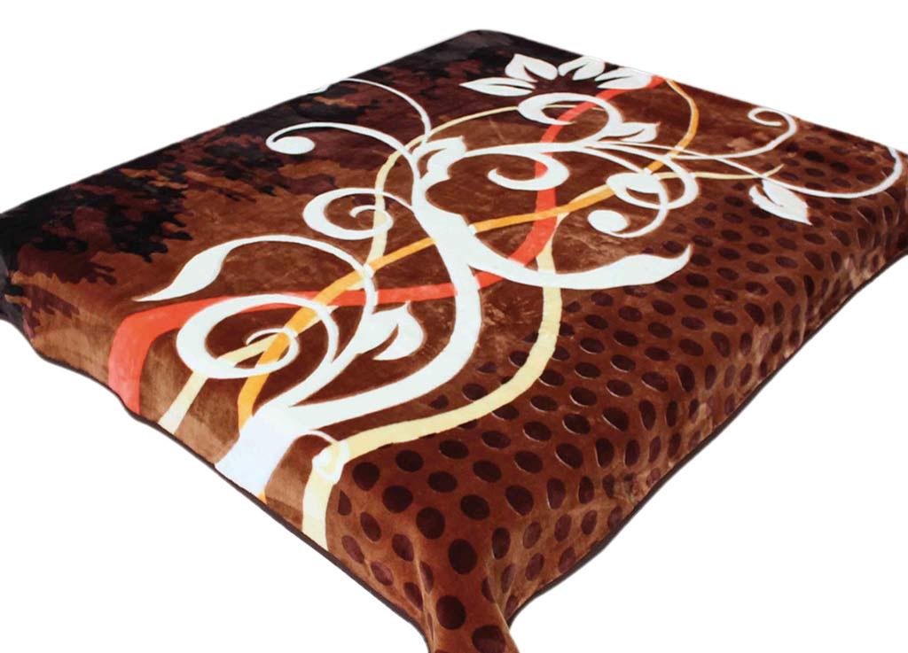 Плед Tamerlan, стриженый, цвет: коричневый, 200 х 240 см. 643461004900000360плотность 625 гр/м2