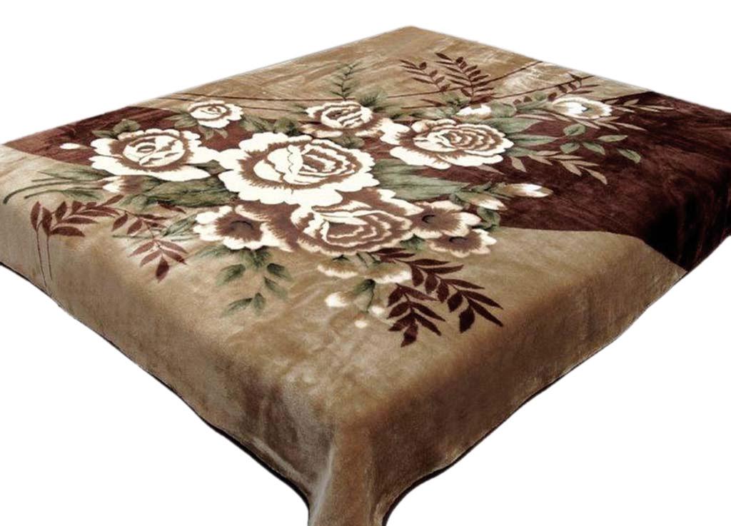 Плед Tamerlan, нестриженый, цвет: светло-коричневый, 150 х 200 см. 74527S03301004плотность 400 гр/м2