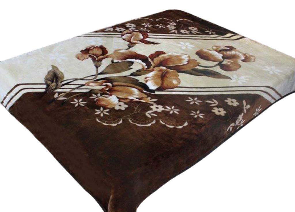 Плед Tamerlan, нестриженый, цвет: коричневый, 150 х 200 см. 74530SVC-300плотность 400 гр/м2