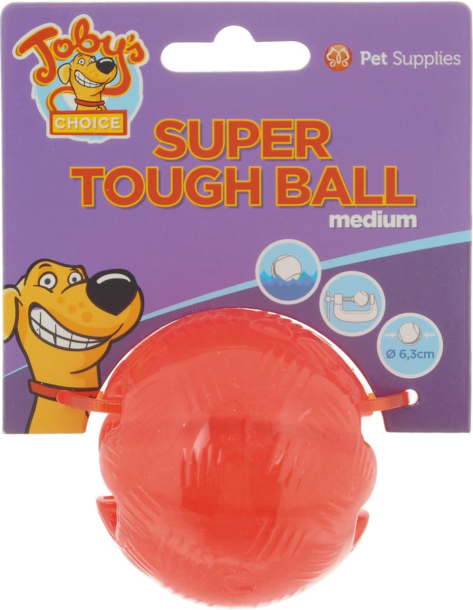 Игрушка для собак Pet Supplies Toby's Choice, цвет: красный, диаметр 6.3 см0120710Игрушка для собак Pet Supplies Tobys Choice выполнена из резины в виде мяча. Она надолго займет вашего любимца, избавив его от скуки. Игрушка позволяет равномерно распределить угощение и корм внутри, поэтому лакомства достанутся питомцу не так быстро, и это продлит его игру.Диаметр игрушки: 6,3 см.