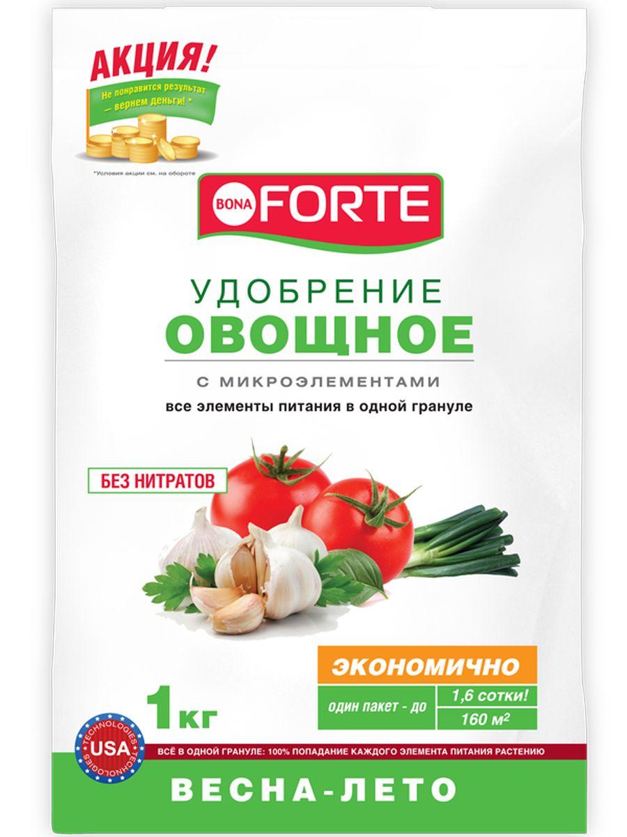 Удобрение комплексное гранулированное Bona Forte, овощное марка NPK 10-20-20 с микроэлементами, 1 кгBH0119-RВсе элементы в одной грануле, равномерное внесение удобрения, безопасно - без нитратов, экономичное расходование, отличный результат. Удобрение гранулированное с микроэлементами Бона Форте хорошо повлияет на развитие ваших растений. Благодаря такой помощи любой кустарник, корнеплод или цветок будет сильным, здоровым, а урожай - великолепным.