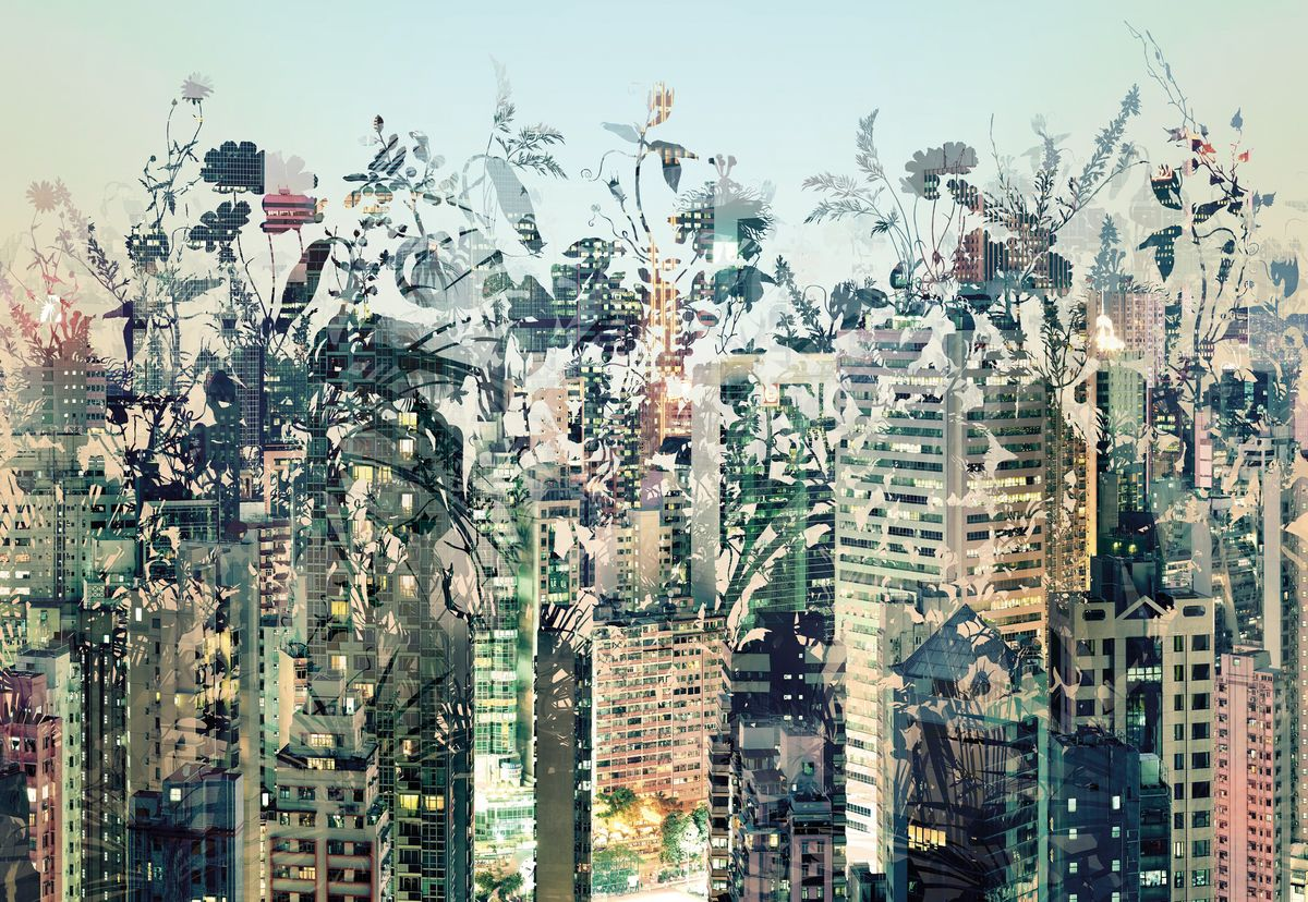 Фотообои Komar Городские джунгли, 3,68 х 2,54 мБрелок для сумкиБумажные фотообои известного бренда Komar позволят создать неповторимый облик помещения, в котором они размещены. Фотообои наносятся на стены тем же способом, что и обычные обои. Благодаря превосходной печати и высококачественной основе такие обои будут радовать вас долгое время. Фотообои снова вошли в нашу жизнь, став модным направлением декорирования интерьера. Выбрав правильную фактуру и сюжет изображения можно добиться невероятного эффекта живого присутствия.Ширина рулона: 3,68 м.Высота полотна: 2,54 м. Клей в комплекте.