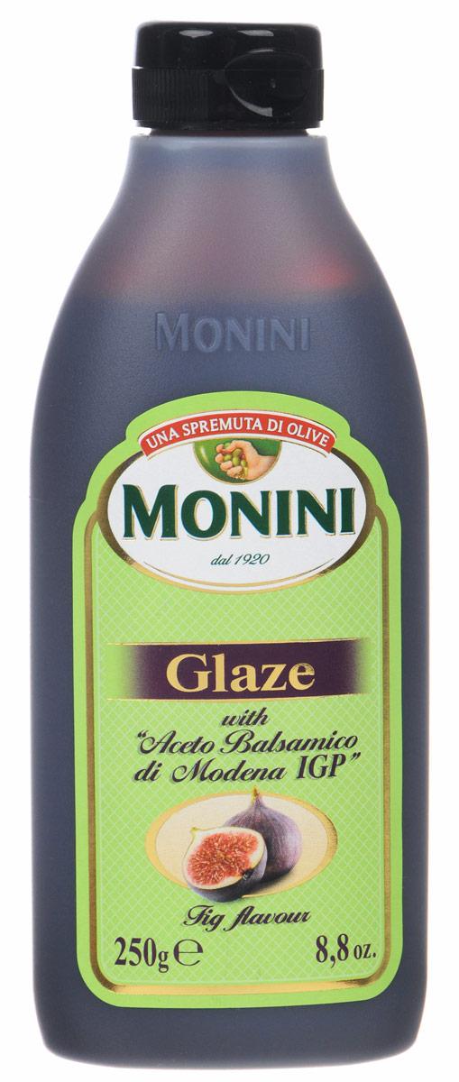 Monini Balsamic Glaze бальзамический соус со вкусом инжира, 250 г0120710Monini Balsamic Glaze - это бальзамический соус со вкусом инжира, который отлично подойдет как приправа к различным блюдам на ваш вкус, будь то мясо, рыба или овощи.