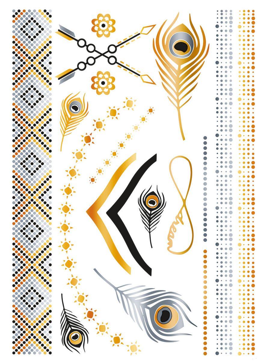 Herma Наклейки для тела Flash Tattoo Украшения -  Наклейки