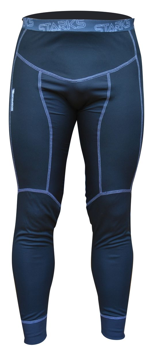 """Термобелье брюки Starks """"Coolmax"""", летние, охлаждающие, цвет: серо-синий. ЛЦ0012. Размер XXL"""