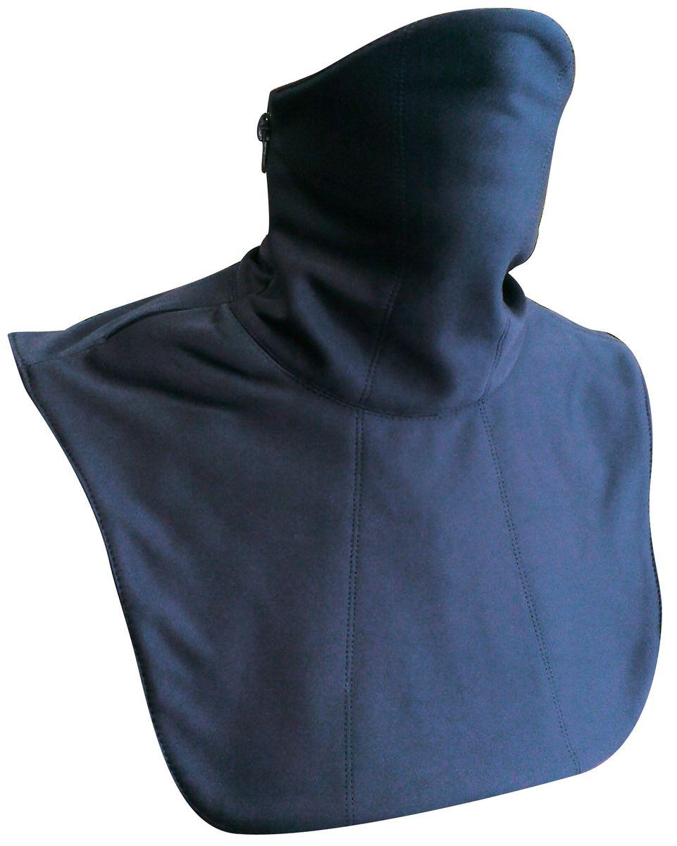 Ветрозащита шеи и груди Starks Collar WS, цвет: черный. ЛЦ0033. Размер S/MMP0005Ветрозащита шеи и груди Starks Collar WS выполнена в два слоя: Снаружи - защита из WindStopper, что обеспечивает полную защиту шеи и груди от дождя, ветра, холода и снега. Защитная дышащая мембрана работает в обе стороны - изнутри сохраняет тепло, выводит влагу, снаружи - полная защита от неблагоприятных внешних факторов. Внутренняя часть - утепление из Fleece. Основная функция - дополнительное утепление, сохранение тепла, отведение влаги от лица к мембране, сохранение комфорта коже лица, терморегуляция. Модель предназначена для любых отрицательных температур и любой влажности. Молния позволяет легко одевать и снимать ветрозащиту, открывать лицо когда это необходимо.Исключены возможные неудобств, связанные с соприкосанием молнии к коже. Изнутри молния закрыта флисовой вставкой.Особенности: гипоалергенный, быстро сохнет, терморегуляция, антибактериальный, комбинированный. Состав: 100% полиэстер, мембрана SoftShellс миркофлисом.