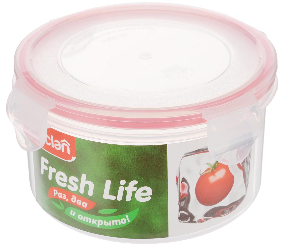 Контейнер для хранения продуктов Paclan Fresh Life, 680 мл21395599Контейнер Paclan Fresh Life, выполненный из полипропилена, предназначен для хранения, заморозки и разогрева в микроволновой печи (при снятой крышке). После использования промыть теплой водой. Пищевые контейнеры необыкновенно удобны: в них можно брать еду на работу, за город, ребенку в школу. В них также удобно хранить пищу дома. Можно мыть в посудомоечной машине.Не пригоден для приготовления пищи.