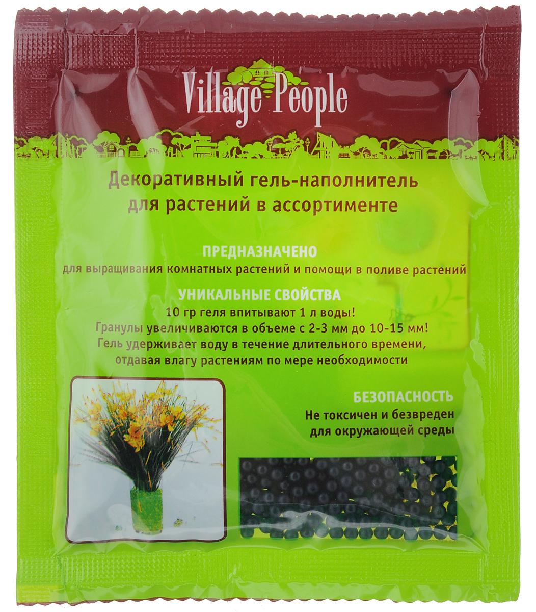 Гель-наполнитель декоративный Village People, для растений, цвет: черный, 10 гZ-0307Декоративный гель-наполнитель Village People предназначен для выращивания комнатных растений и помощи в поливе растений. Гель не токсичен и безвреден для окружающей среды.Уникальные свойства геля:10 г геля впитывают 1 литр воды.Гранулы увеличиваются в объеме с 2-3 мм до 10-15 мм.Гель удерживает воду в течение длительного времени, отдавая влагу растениям по мере необходимости.Вес: 10 г.Размер гранул: 2-3 мм.