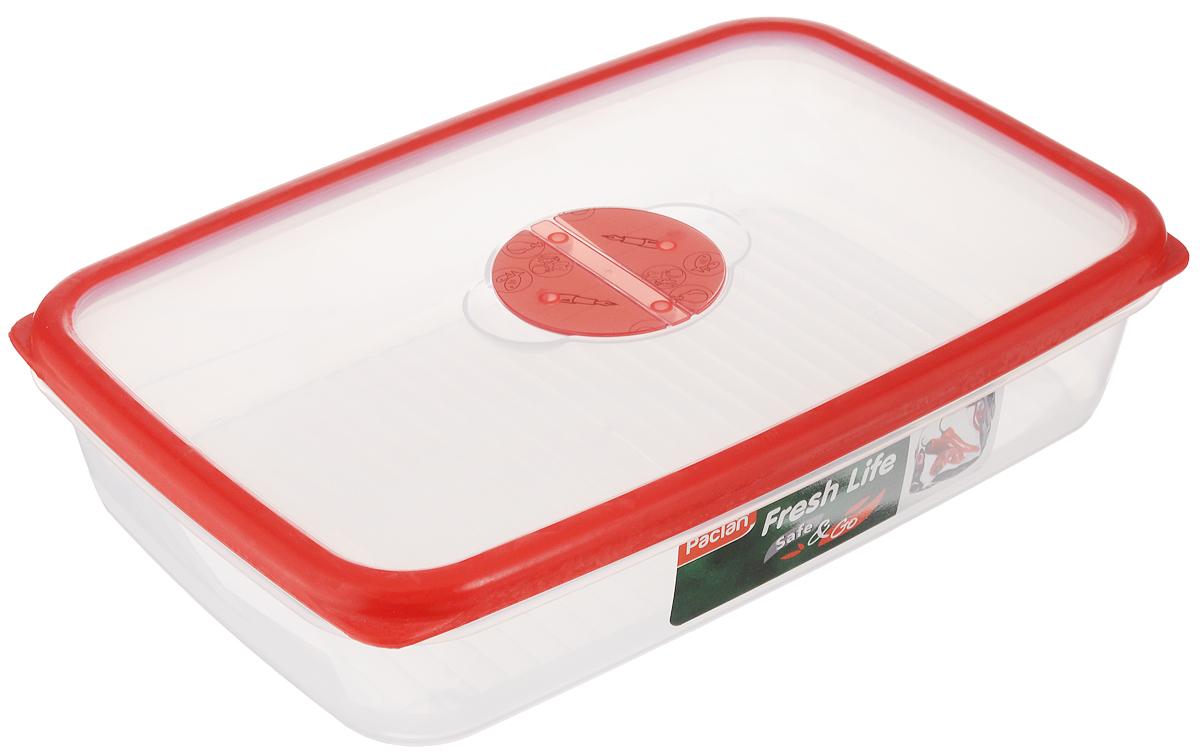 Контейнер для хранения продуктов Paclan Fresh Life, 2 л21395599Контейнер Paclan Fresh Life, изготовленный из высококачественного полипропилена, предназначен для хранения, заморозки и разогрева продуктов. Герметичная крышка, снабженная уплотнительной резинкой, надежно закрывается. Можно мыть в посудомоечной машине. Подходит для использования в микроволновой печи, холодильнике и морозильной камере.