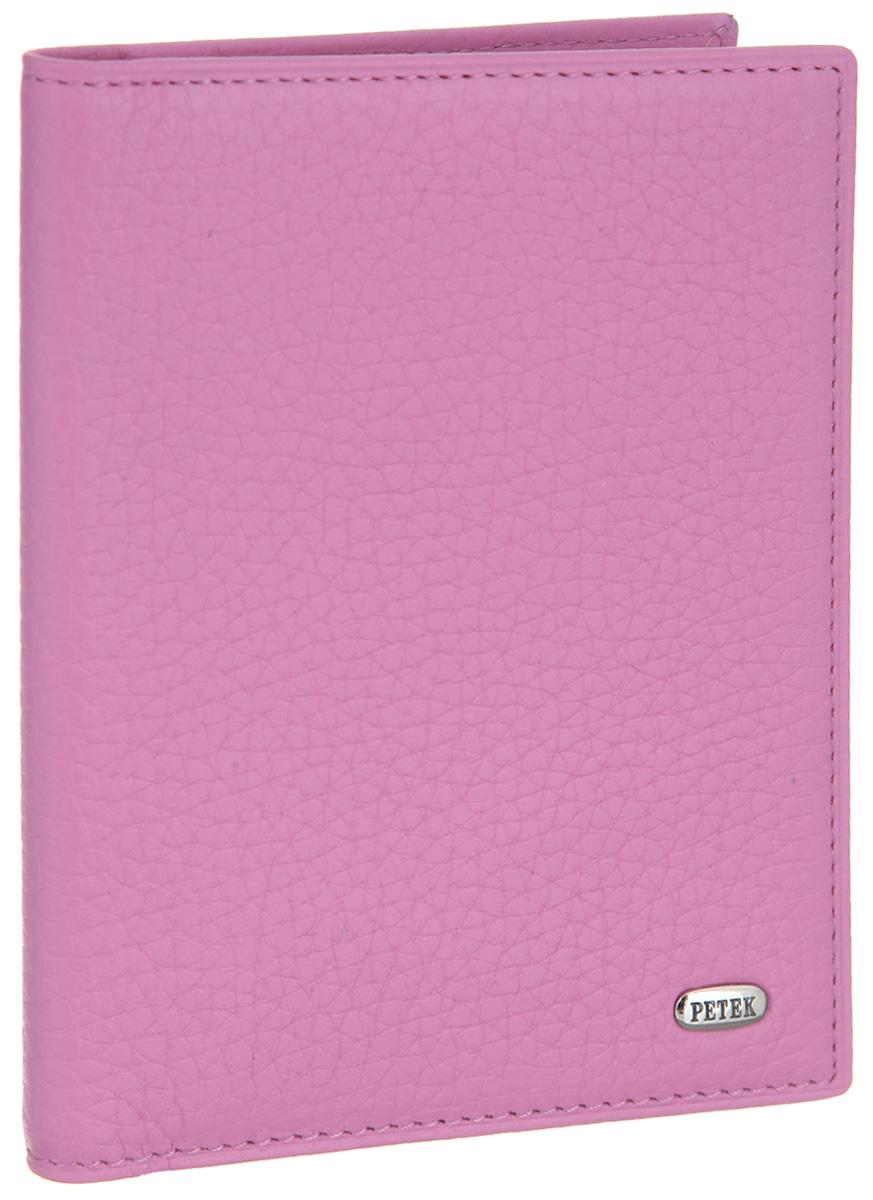 Обложка для автодокументов женская Petek 1855, цвет: розовый. 584.46D.95584.46D.95 PinkОбложка для автодокументов Petek 1855 выполнена из высококачественной натуральной кожи с фактурным тиснением. На внутреннем развороте - съемный блок из шести прозрачных файлов из мягкого пластика, один из которых формата А5, два боковых кармана, один из которых сетчатый, и четыре прорезных кармашка для визиток и пластиковых карт. Обложка не только поможет сохранить внешний вид ваших документов и защитит их от повреждений, но и станет стильным аксессуаром, который подчеркнет ваш неповторимый стиль.