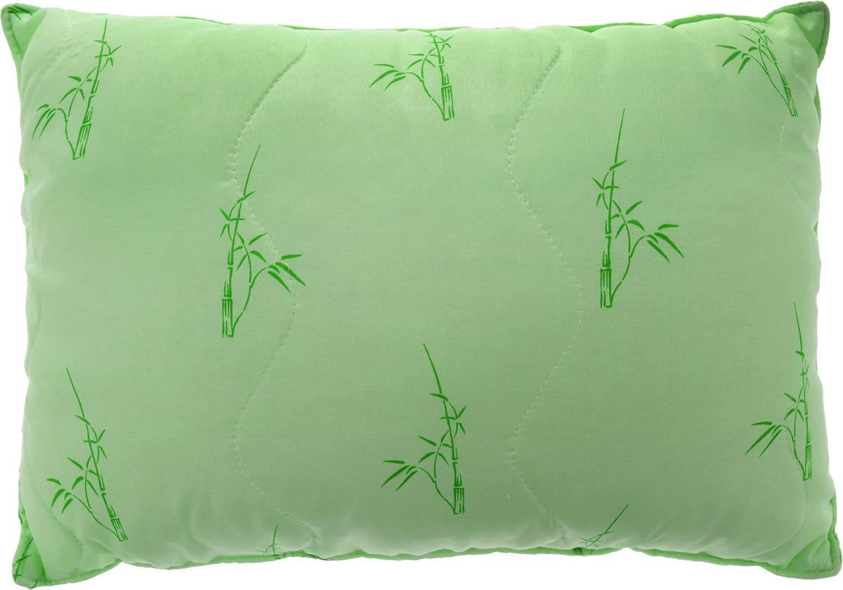 Подушка ЭГО, наполнитель: бамбуковое волокно, 40 х 60 см17102027Подушка ЭГО подарит уютный и комфортный сон. Чехол подушки выполнен из полиэстера и оформлен рисунком в виде бамбуковых стеблей. Внутри - наполнитель из бамбукового волокна. Оригинальная стежка равномерно распределяет наполнитель в чехле. Такой наполнитель имеет массу достоинств: антибактериальные свойства, хорошую воздухонепроницаемость, прочность, гигроскопичность, экологичность. Кроме того, изделия с таким наполнителем очень просты в уходе - наполнитель не садится и не сбивается при стирке, обладает высокой прочностью и не впитывает запахи.Подушка легко стирается и быстро высыхает. Она прослужит долго, а ее изысканный внешний вид будет годами дарить вам уют.