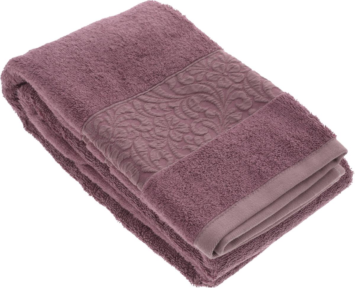 Полотенце бамбуковое Issimo Home Valencia, цвет: пыльная роза, 70 x 140 см68/5/1Полотенце Issimo Home Valencia выполнено из 60% бамбукового волокна и 40% хлопка. Таким полотенцем не нужно вытираться - только коснитесь кожи - и ткань сама все впитает. Такая ткань впитывает в 3 раза лучше, чем хлопок.Несмотря на высокую плотность, полотенце быстро сохнет, остается легкими даже при намокании.Изделие имеет красивый жаккардовый бордюр, оформленный цветочным орнаментом. Благородные, классические тона создадут уют и подчеркнут лучшие качества махровой ткани, а сочные, яркие, летние оттенки создадут ощущение праздника и наполнят дом энергией. Красивая, стильная упаковка этого полотенца делает его уже готовым подарком к любому случаю.