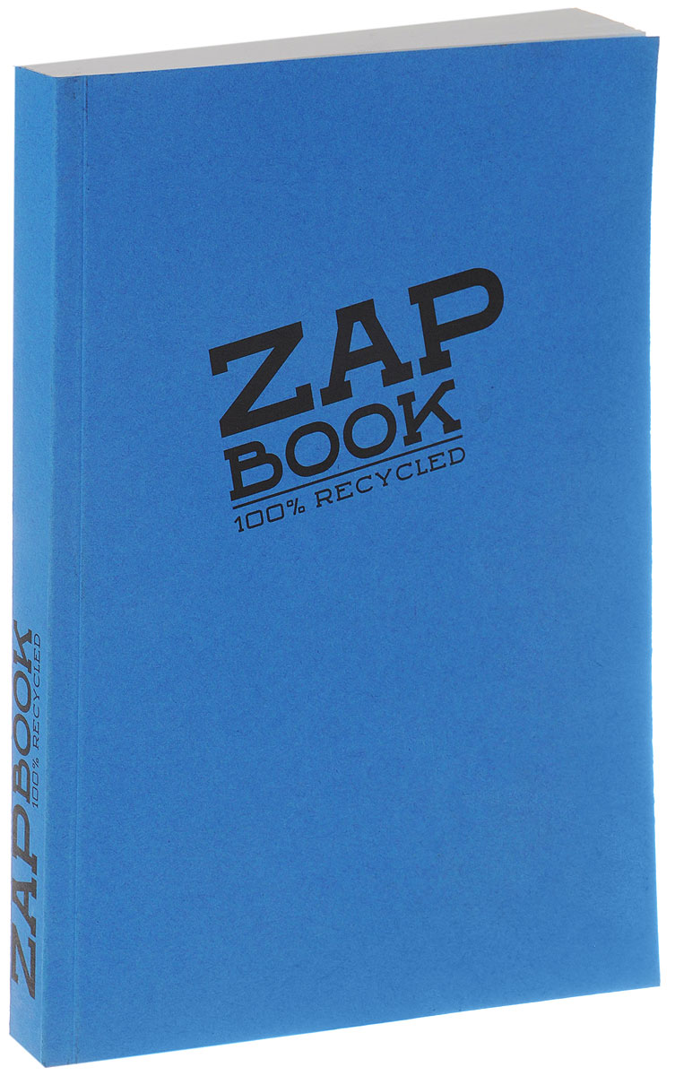 Clairefontaine Блокнот для эскизов Zap Book 160 листов цвет синий72523WDClairefontaine - французская компания, выпускающая канцелярские товары, тетради и блокноты с 1858 года. Блокнот для эскизов Claire Fontaine Zap Book формата А5 идеален для рисования, эскизов и заметок. Изготовлен из переработанной бумаги. Цветная обложка из плотного картона. Внутренний блок на 320 страниц на склейке, без разметки.