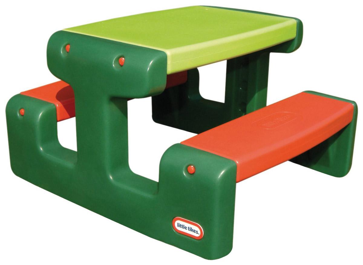 Little Tikes Стол для пикника цвет зеленый красный стол для пикника купить в интернет магазине