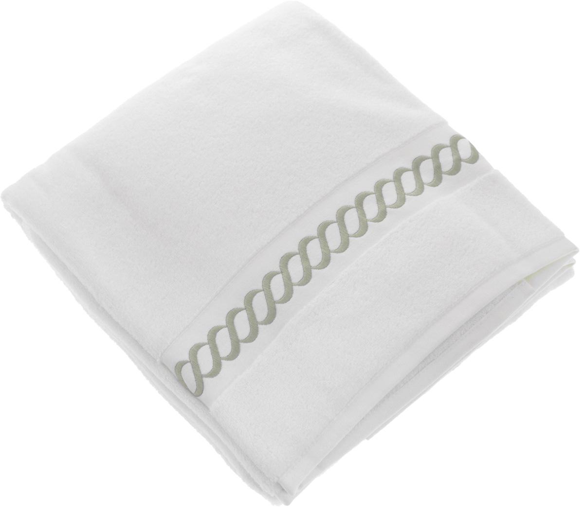 Полотенце махровое Issimo Home Pauline, цвет: белый, бежевый, 90 x 150 см68/5/1Полотенце Issimo Home Pauline выполнено из натуральной махровой ткани (100% хлопок). Изделие отлично впитывает влагу, быстро сохнет и не теряет форму даже после многократных стирок. Рекомендации по уходу:- режим стирки при 40°C,- допускается обычная химчистка,- отбеливание запрещено,- глажка при температуре подошвы утюга до 110°С,- барабанный отжим запрещен.Размер полотенца: 90 x 150 см.