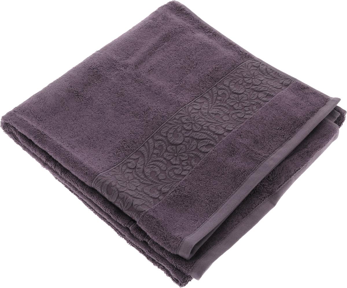 Полотенце бамбуковое Issimo Home Valencia, цвет: пурпурный, 70 x 140 см68/5/2Полотенце Issimo Home Valencia выполнено из 60% бамбукового волокна и 40% хлопка. Таким полотенцем не нужно вытираться - только коснитесь кожи - и ткань сама все впитает. Такая ткань впитывает в 3 раза лучше, чем хлопок.Несмотря на высокую плотность, полотенце быстро сохнет, остается легкими даже при намокании.Изделие имеет красивый жаккардовый бордюр, оформленный цветочным орнаментом. Благородные, классические тона создадут уют и подчеркнут лучшие качества махровой ткани, а сочные, яркие, летние оттенки создадут ощущение праздника и наполнят дом энергией. Красивая, стильная упаковка этого полотенца делает его уже готовым подарком к любому случаю.