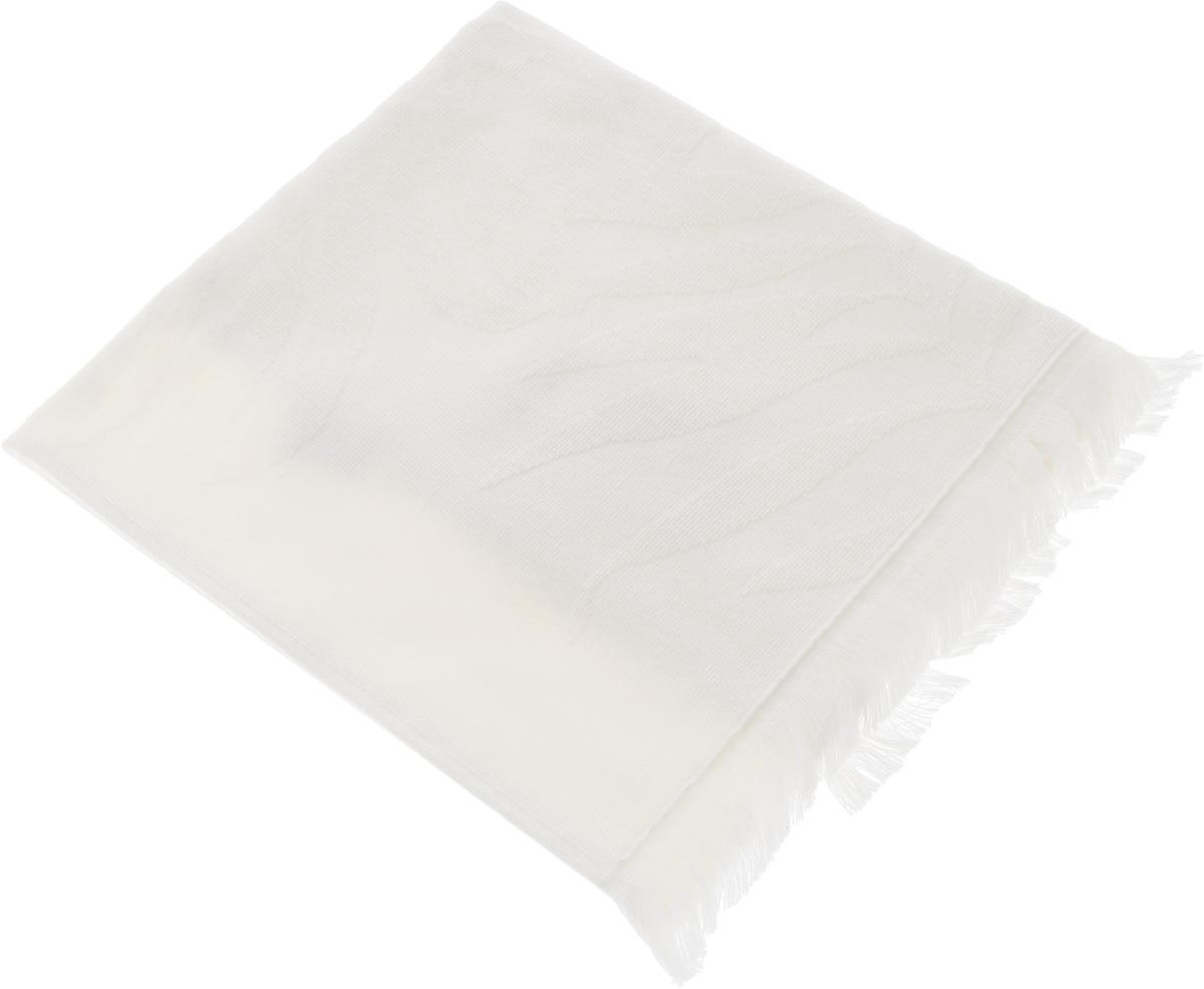 Полотенце Issimo Home Nadia, цвет: экрю, 50 x 90 см531-105Полотенце Issimo Home Nadia выполнено из 100% хлопка. Изделие отлично впитывает влагу, быстро сохнет, сохраняет яркость цвета и не теряет форму даже после многократных стирок. Полотенце очень практично и неприхотливо в уходе. Оно прекрасно дополнит интерьер ванной комнаты.