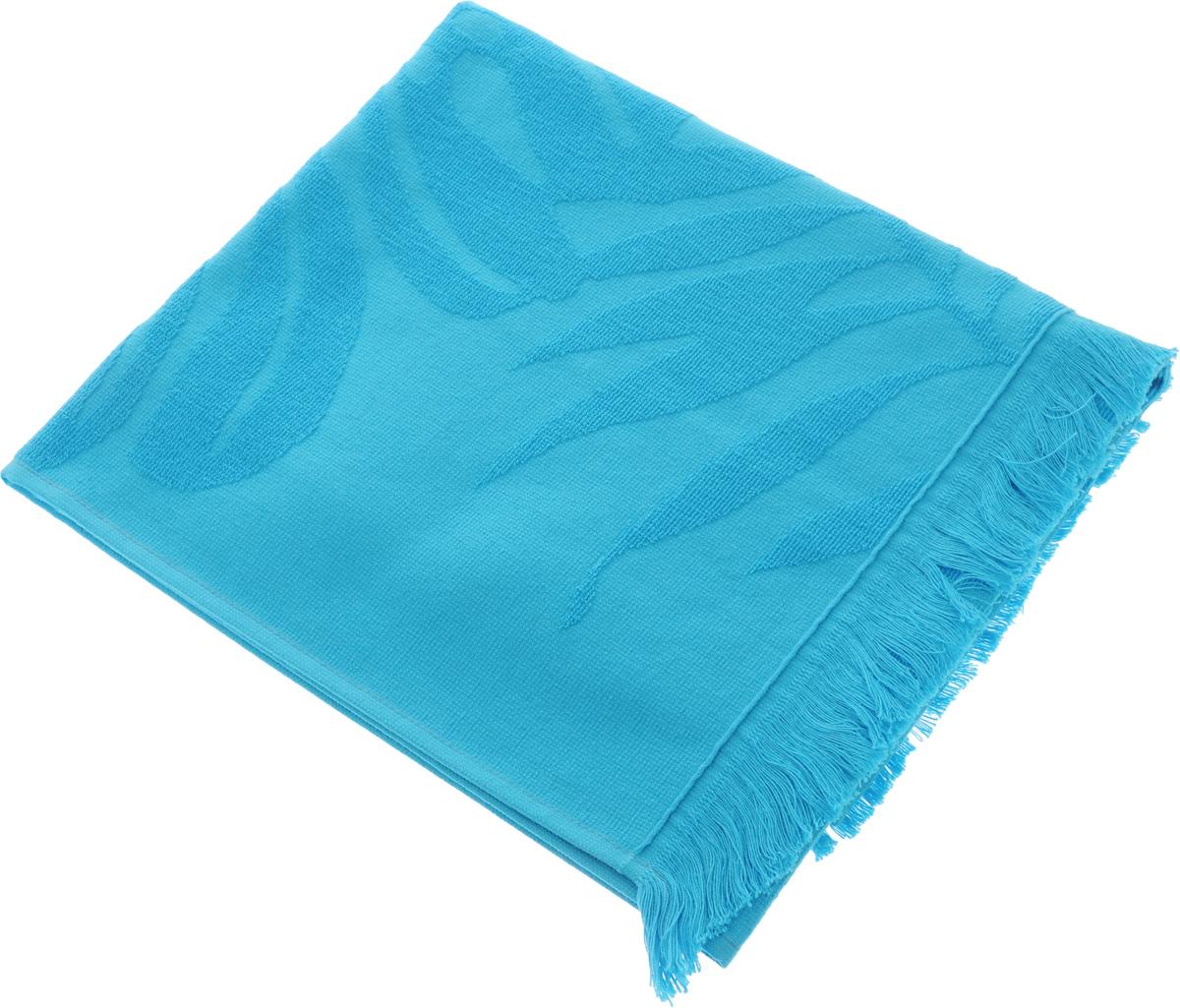 Полотенце Issimo Home Nadia, цвет: бирюзовый, 50 x 90 см68/5/3Полотенце Issimo Home Nadia выполнено из 100% хлопка. Изделие отлично впитывает влагу, быстро сохнет, сохраняет яркость цвета и не теряет форму даже после многократных стирок. Полотенце очень практично и неприхотливо в уходе. Оно прекрасно дополнит интерьер ванной комнаты.
