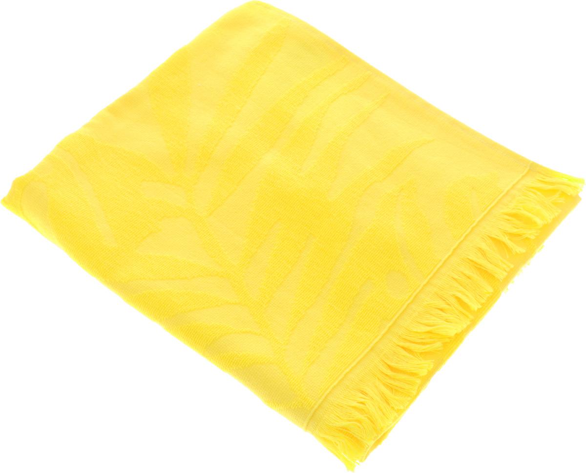 Полотенце Issimo Home Nadia, цвет: желтый, 50 x 90 см531-105Полотенце Issimo Home Nadia выполнено из 100% хлопка. Изделие отлично впитывает влагу, быстро сохнет, сохраняет яркость цвета и не теряет форму даже после многократных стирок. Полотенце очень практично и неприхотливо в уходе. Оно прекрасно дополнит интерьер ванной комнаты.