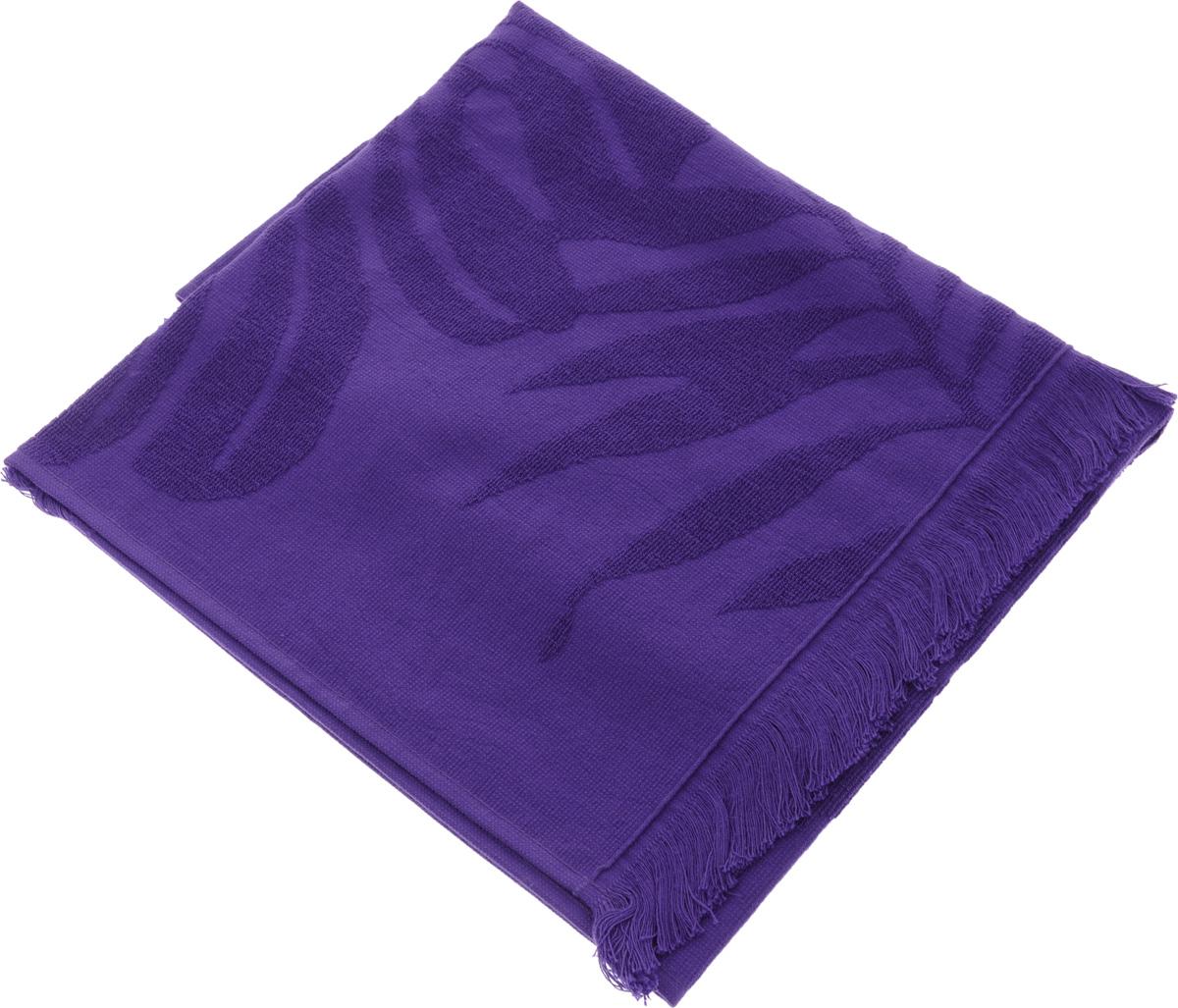 Полотенце Issimo Home Nadia, цвет: фиолетовый, 50 x 90 см531-105Полотенце Issimo Home Nadia выполнено из 100% хлопка. Изделие отлично впитывает влагу, быстро сохнет, сохраняет яркость цвета и не теряет форму даже после многократных стирок. Полотенце очень практично и неприхотливо в уходе. Оно прекрасно дополнит интерьер ванной комнаты.
