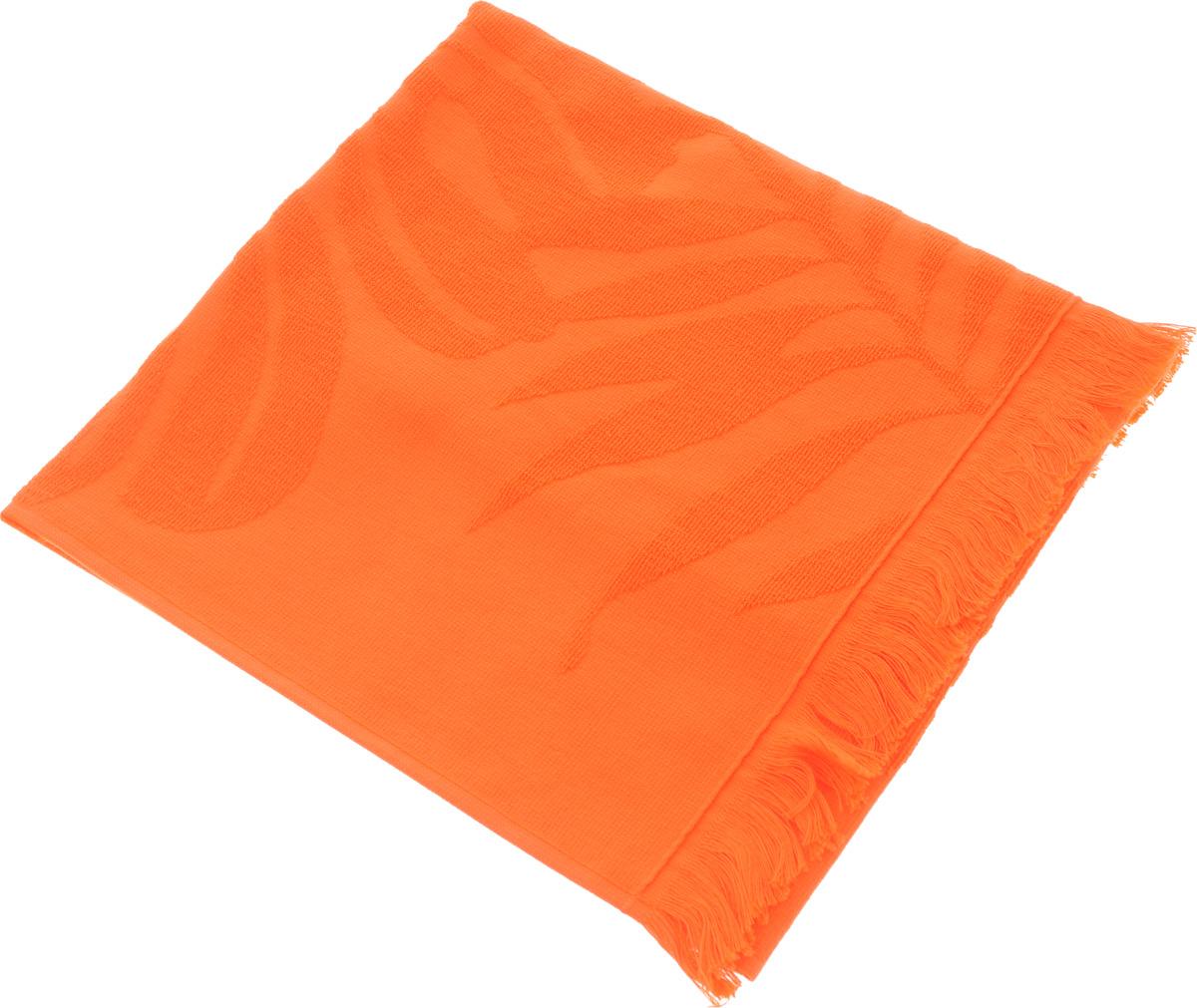 Полотенце Issimo Home Nadia, цвет: оранжевый, 50 x 90 см531-105Полотенце Issimo Home Nadia выполнено из 100% хлопка. Изделие отлично впитывает влагу, быстро сохнет, сохраняет яркость цвета и не теряет форму даже после многократных стирок. Полотенце очень практично и неприхотливо в уходе. Оно прекрасно дополнит интерьер ванной комнаты.