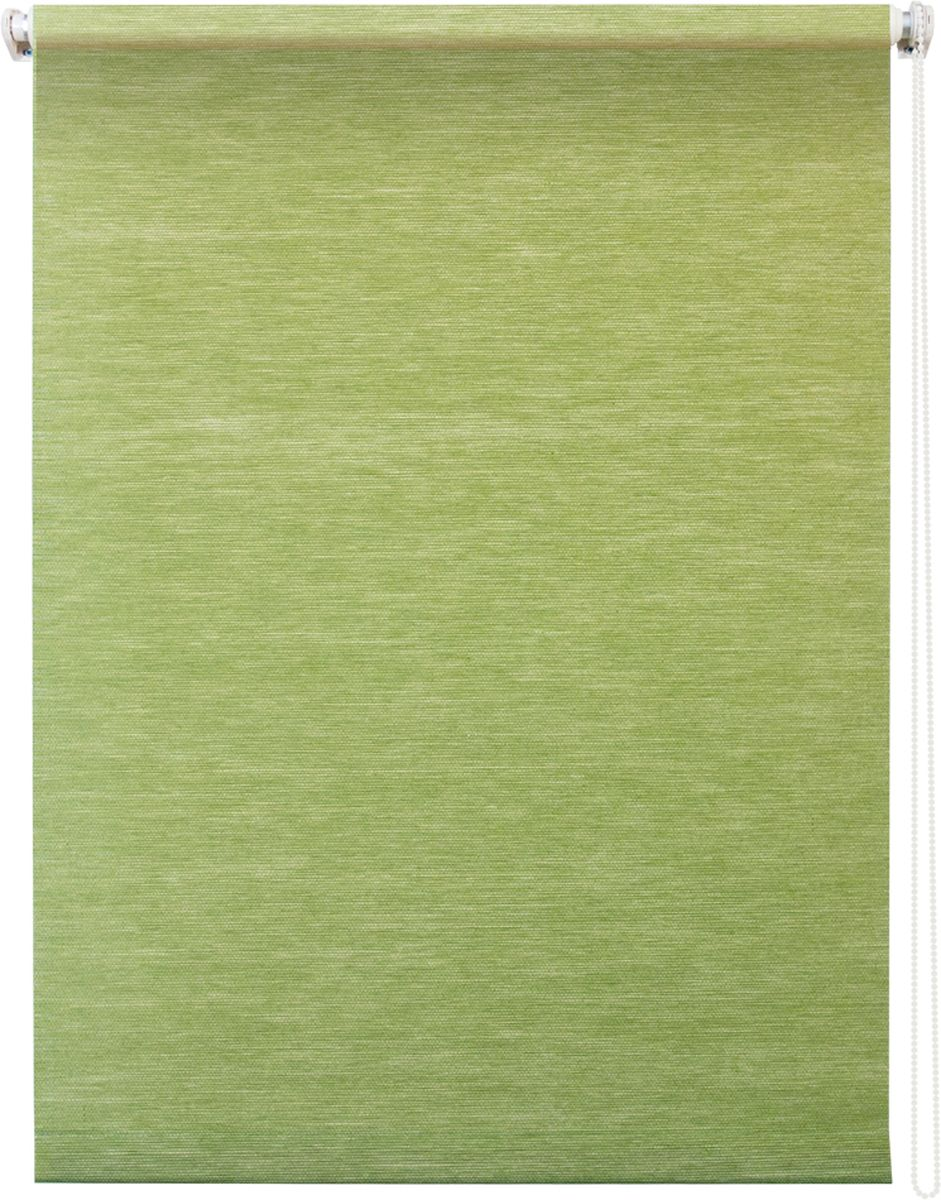 Штора рулонная Уют Концепт, цвет: зеленый, 70 х 175 см1004900000360Штора рулонная Уют Концепт выполнена из прочного полиэстера с обработкой специальным составом, отталкивающим пыль. Ткань не выцветает, обладает отличной цветоустойчивостью и светонепроницаемостью.Штора закрывает не весь оконный проем, а непосредственно само стекло и может фиксироваться в любом положении. Она быстро убирается и надежно защищает от посторонних взглядов. Компактность помогает сэкономить пространство. Универсальная конструкция позволяет крепить штору на раму без сверления, также можно монтировать на стену, потолок, створки, в проем, ниши, на деревянные или пластиковые рамы. В комплект входят регулируемые установочные кронштейны и набор для боковой фиксации шторы. Возможна установка с управлением цепочкой как справа, так и слева. Изделие при желании можно самостоятельно уменьшить. Такая штора станет прекрасным элементом декора окна и гармонично впишется в интерьер любого помещения.