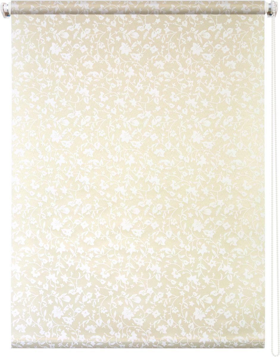 Штора рулонная Уют Лето, цвет: желтый, 100 х 175 см106-026Штора рулонная Уют Лето выполнена из прочного полиэстера с обработкой специальным составом, отталкивающим пыль. Ткань не выцветает, обладает отличной цветоустойчивостью и светонепроницаемостью.Штора закрывает не весь оконный проем, а непосредственно само стекло и может фиксироваться в любом положении. Она быстро убирается и надежно защищает от посторонних взглядов. Компактность помогает сэкономить пространство. Универсальная конструкция позволяет крепить штору на раму без сверления, также можно монтировать на стену, потолок, створки, в проем, ниши, на деревянные или пластиковые рамы. В комплект входят регулируемые установочные кронштейны и набор для боковой фиксации шторы. Возможна установка с управлением цепочкой как справа, так и слева. Изделие при желании можно самостоятельно уменьшить. Такая штора станет прекрасным элементом декора окна и гармонично впишется в интерьер любого помещения.