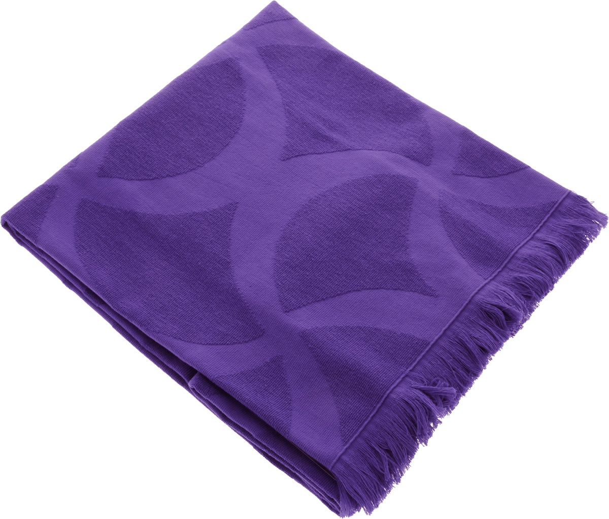 Полотенце Issimo Home Rondelle, цвет: фиолетовый, 90 x 180 см68/5/1Полотенце Issimo Home Rondelle выполнено из 100% хлопка. Изделие отлично впитывает влагу, быстро сохнет, сохраняет яркость цвета и не теряет форму даже после многократных стирок. Полотенце очень практично и неприхотливо в уходе. Оно прекрасно дополнит интерьер ванной комнаты.