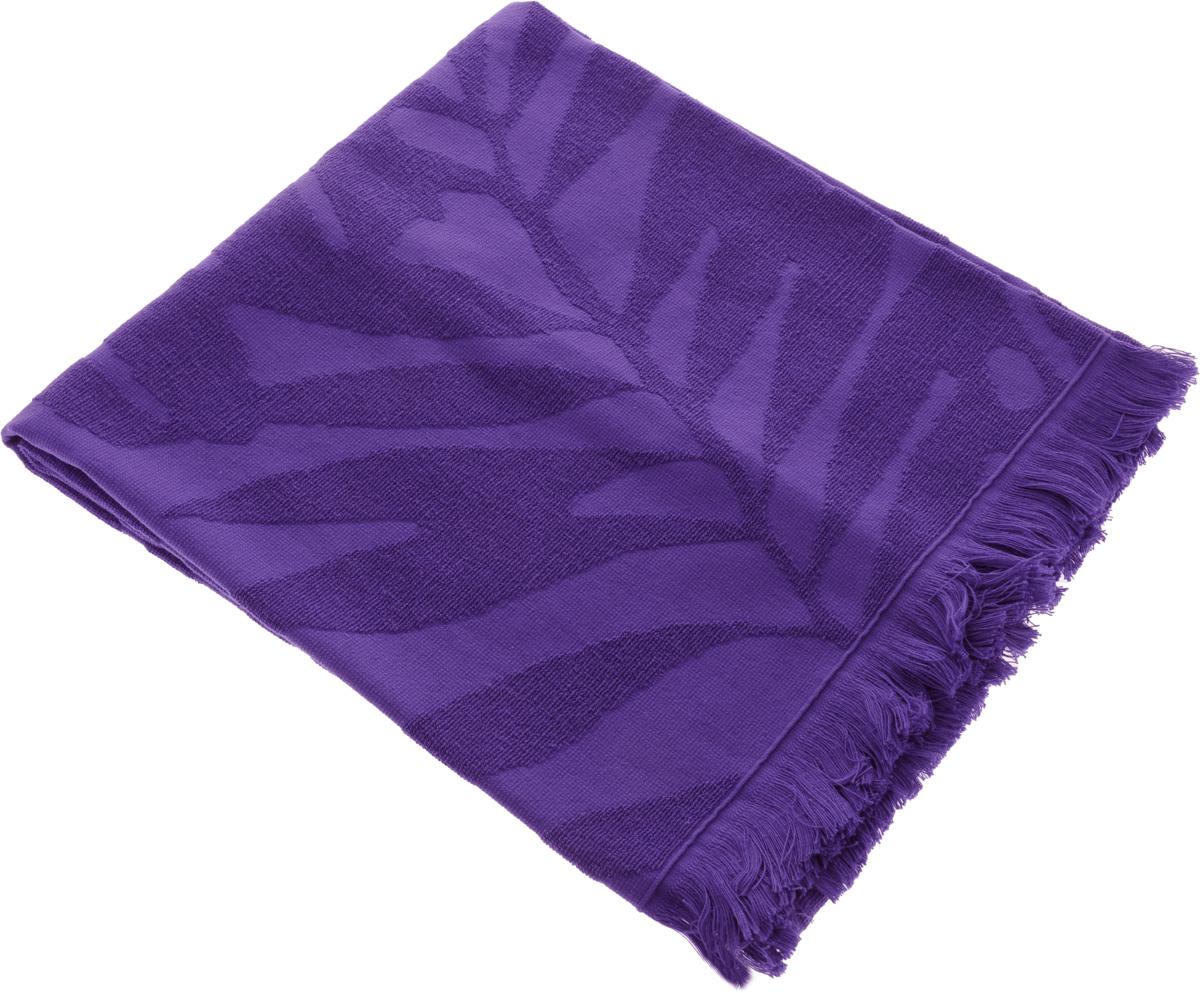 Полотенце Issimo Home Nadia, цвет: фиолетовый, 70 x 140 см531-105Полотенце Issimo Home Nadia выполнено из 100% хлопка. Изделие отлично впитывает влагу, быстро сохнет, сохраняет яркость цвета и не теряет форму даже после многократных стирок. Полотенце очень практично и неприхотливо в уходе. Оно прекрасно дополнит интерьер ванной комнаты.
