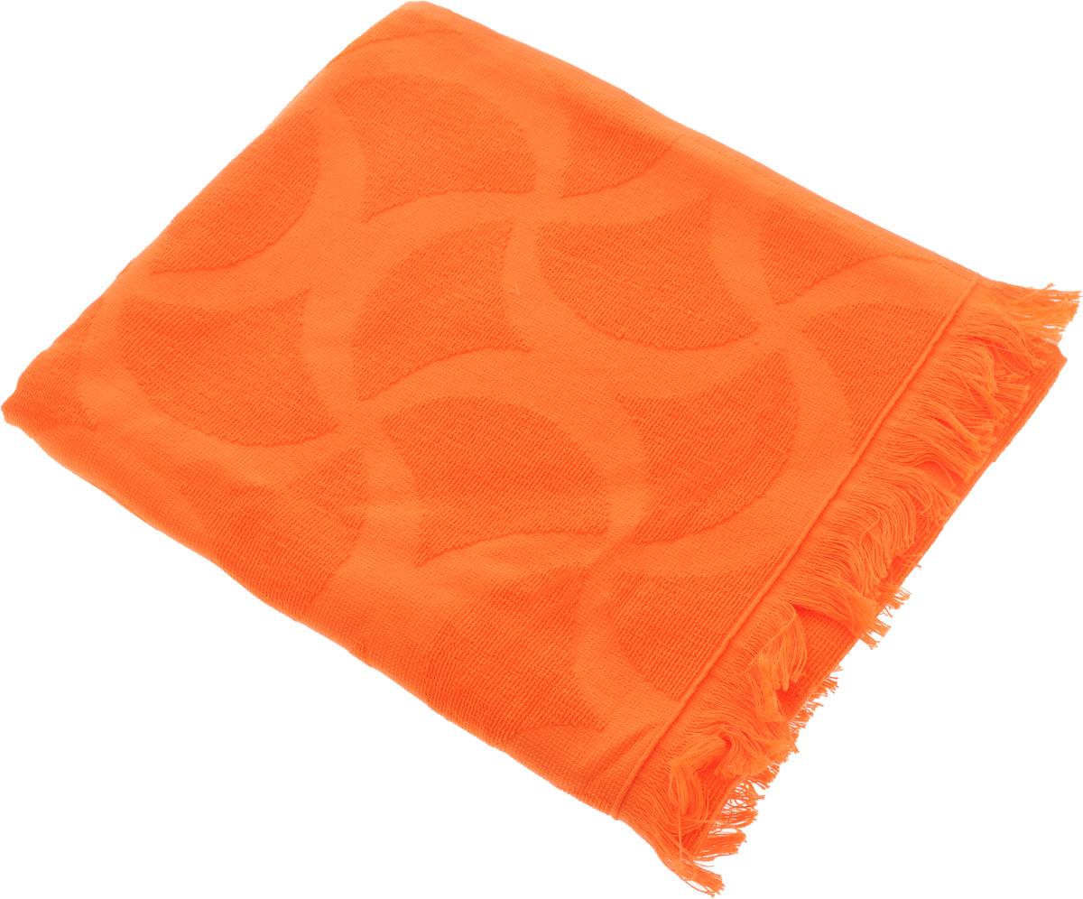 Полотенце Issimo Home Rondelle, цвет: оранжевый, 90 x 180 смS03301004Полотенце Issimo Home Rondelle выполнено из 100% хлопка. Изделие отлично впитывает влагу, быстро сохнет, сохраняет яркость цвета и не теряет форму даже после многократных стирок. Полотенце очень практично и неприхотливо в уходе. Оно прекрасно дополнит интерьер ванной комнаты.
