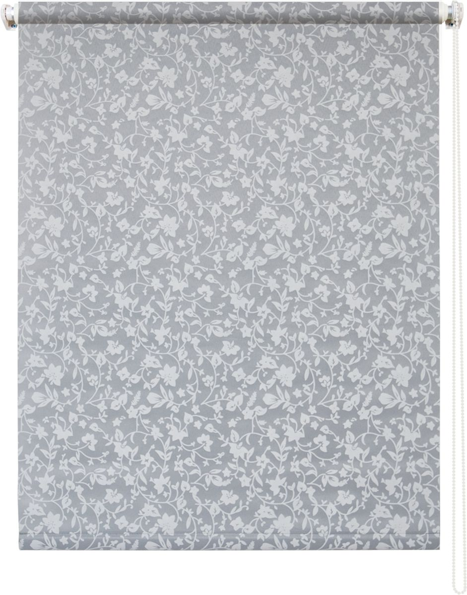 Штора рулонная Уют Лето, цвет: серый, 140 х 175 см62.РШТО.7701.040х175Штора рулонная Уют Лето выполнена из прочного полиэстера с обработкой специальным составом, отталкивающим пыль. Ткань не выцветает, обладает отличной цветоустойчивостью и светонепроницаемостью.Штора закрывает не весь оконный проем, а непосредственно само стекло и может фиксироваться в любом положении. Она быстро убирается и надежно защищает от посторонних взглядов. Компактность помогает сэкономить пространство. Универсальная конструкция позволяет крепить штору на раму без сверления, также можно монтировать на стену, потолок, створки, в проем, ниши, на деревянные или пластиковые рамы. В комплект входят регулируемые установочные кронштейны и набор для боковой фиксации шторы. Возможна установка с управлением цепочкой как справа, так и слева. Изделие при желании можно самостоятельно уменьшить. Такая штора станет прекрасным элементом декора окна и гармонично впишется в интерьер любого помещения.