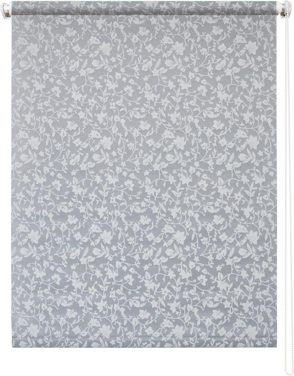 Штора рулонная Уют Лето, цвет: серый, 90 х 175 см62.РШТО.7519.100х175Штора рулонная Уют Лето выполнена из прочного полиэстера с обработкой специальным составом, отталкивающим пыль. Ткань не выцветает, обладает отличной цветоустойчивостью и светонепроницаемостью.Штора закрывает не весь оконный проем, а непосредственно само стекло и может фиксироваться в любом положении. Она быстро убирается и надежно защищает от посторонних взглядов. Компактность помогает сэкономить пространство. Универсальная конструкция позволяет крепить штору на раму без сверления, также можно монтировать на стену, потолок, створки, в проем, ниши, на деревянные или пластиковые рамы. В комплект входят регулируемые установочные кронштейны и набор для боковой фиксации шторы. Возможна установка с управлением цепочкой как справа, так и слева. Изделие при желании можно самостоятельно уменьшить. Такая штора станет прекрасным элементом декора окна и гармонично впишется в интерьер любого помещения.