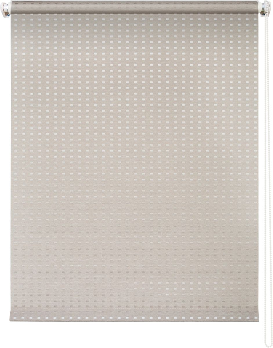 Штора рулонная Уют Плаза, цвет: кремовый, 60 х 175 см62.РШТО.7652.060х175Штора рулонная Уют Плаза выполнена из прочного полиэстера с обработкой специальным составом, отталкивающим пыль. Ткань не выцветает, обладает отличной цветоустойчивостью и светонепроницаемостью.Штора закрывает не весь оконный проем, а непосредственно само стекло и может фиксироваться в любом положении. Она быстро убирается и надежно защищает от посторонних взглядов. Компактность помогает сэкономить пространство. Универсальная конструкция позволяет крепить штору на раму без сверления, также можно монтировать на стену, потолок, створки, в проем, ниши, на деревянные или пластиковые рамы. В комплект входят регулируемые установочные кронштейны и набор для боковой фиксации шторы. Возможна установка с управлением цепочкой как справа, так и слева. Изделие при желании можно самостоятельно уменьшить. Такая штора станет прекрасным элементом декора окна и гармонично впишется в интерьер любого помещения.