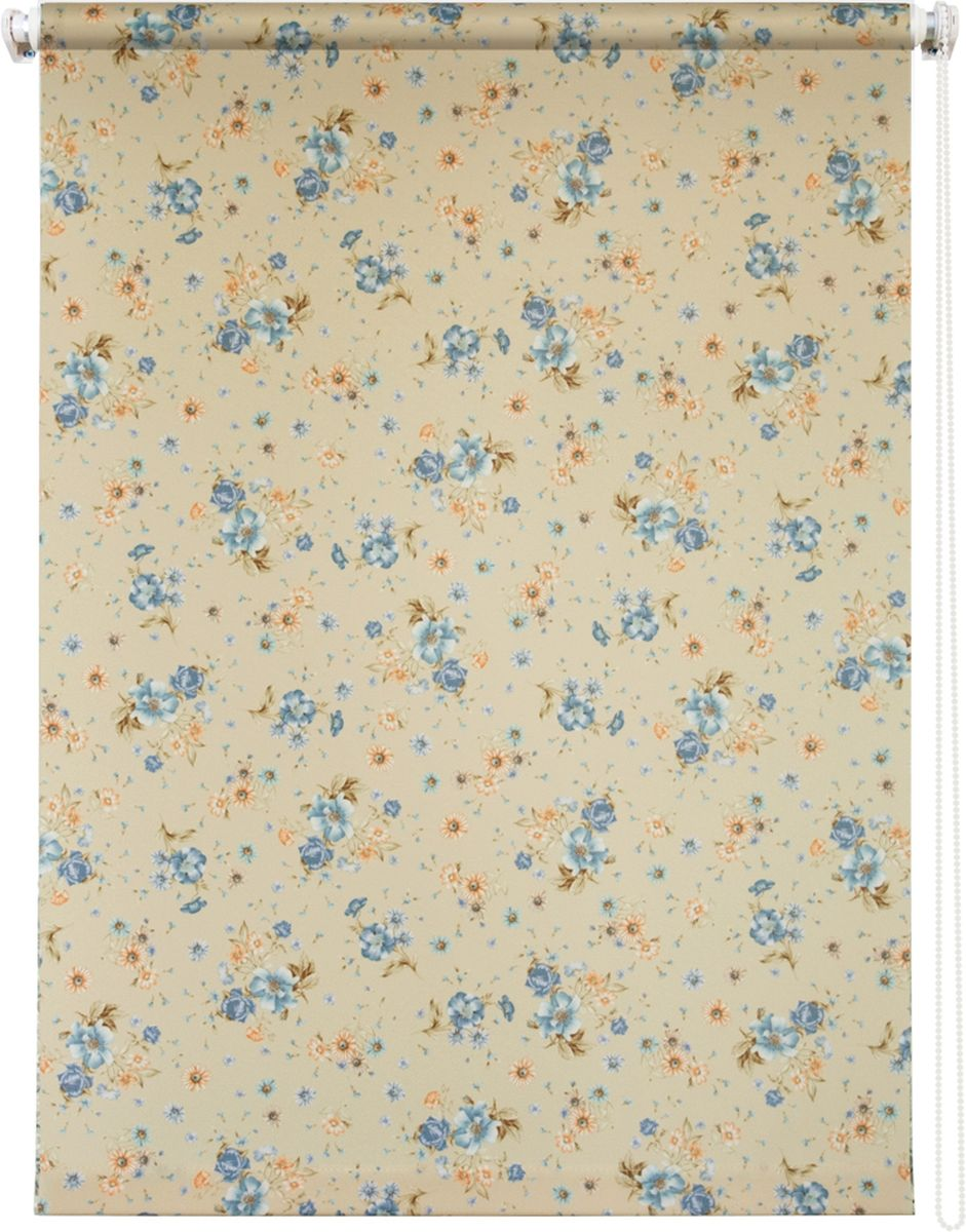 Штора рулонная Уют Прованс, цвет: желтый, голубой, оранжевый, 40 х 175 см4620019034603Штора рулонная Уют Прованс выполнена из прочного полиэстера с обработкой специальным составом, отталкивающим пыль. Ткань не выцветает, обладает отличной цветоустойчивостью и светонепроницаемостью.Штора закрывает не весь оконный проем, а непосредственно само стекло и может фиксироваться в любом положении. Она быстро убирается и надежно защищает от посторонних взглядов. Компактность помогает сэкономить пространство. Универсальная конструкция позволяет крепить штору на раму без сверления, также можно монтировать на стену, потолок, створки, в проем, ниши, на деревянные или пластиковые рамы. В комплект входят регулируемые установочные кронштейны и набор для боковой фиксации шторы. Возможна установка с управлением цепочкой как справа, так и слева. Изделие при желании можно самостоятельно уменьшить. Такая штора станет прекрасным элементом декора окна и гармонично впишется в интерьер любого помещения.