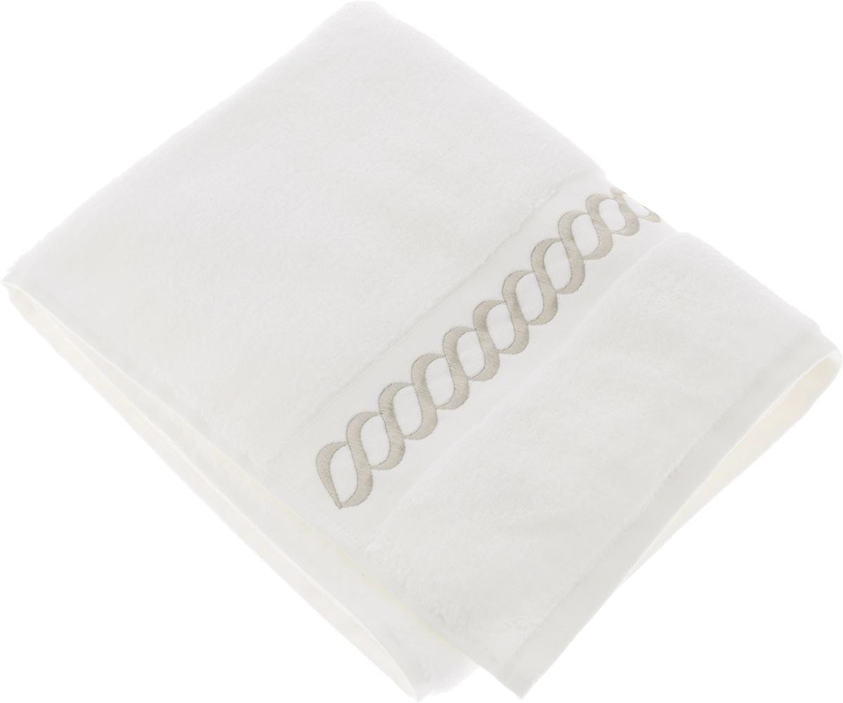 Полотенце махровое Issimo Home Pauline, цвет: белый, бежевый, 70 x 140 смC0042416Полотенце Issimo Home Pauline выполнено из натуральной махровой ткани (100% хлопок). Изделие отлично впитывает влагу, быстро сохнет и не теряет форму даже после многократных стирок. Рекомендации по уходу:- режим стирки при 40°C,- допускается обычная химчистка,- отбеливание запрещено,- глажка при температуре подошвы утюга до 110°С,- барабанный отжим запрещен.Размер полотенца: 70 x 140 см.