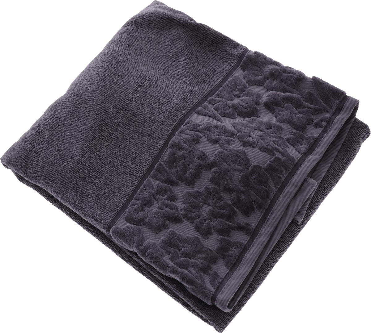 Полотенце махровое Issimo Home Jacquelyn, цвет: индиго, 90 x 150 см68/5/4Махровое полотенце Issimo Home Jacquelyn выполнено из 100% хлопка. Изделие отлично впитывает влагу, быстро сохнет, сохраняет яркость цвета и не теряет форму даже после многократных стирок. Полотенце очень практично и неприхотливо в уходе. Оно прекрасно дополнит интерьер ванной комнаты.