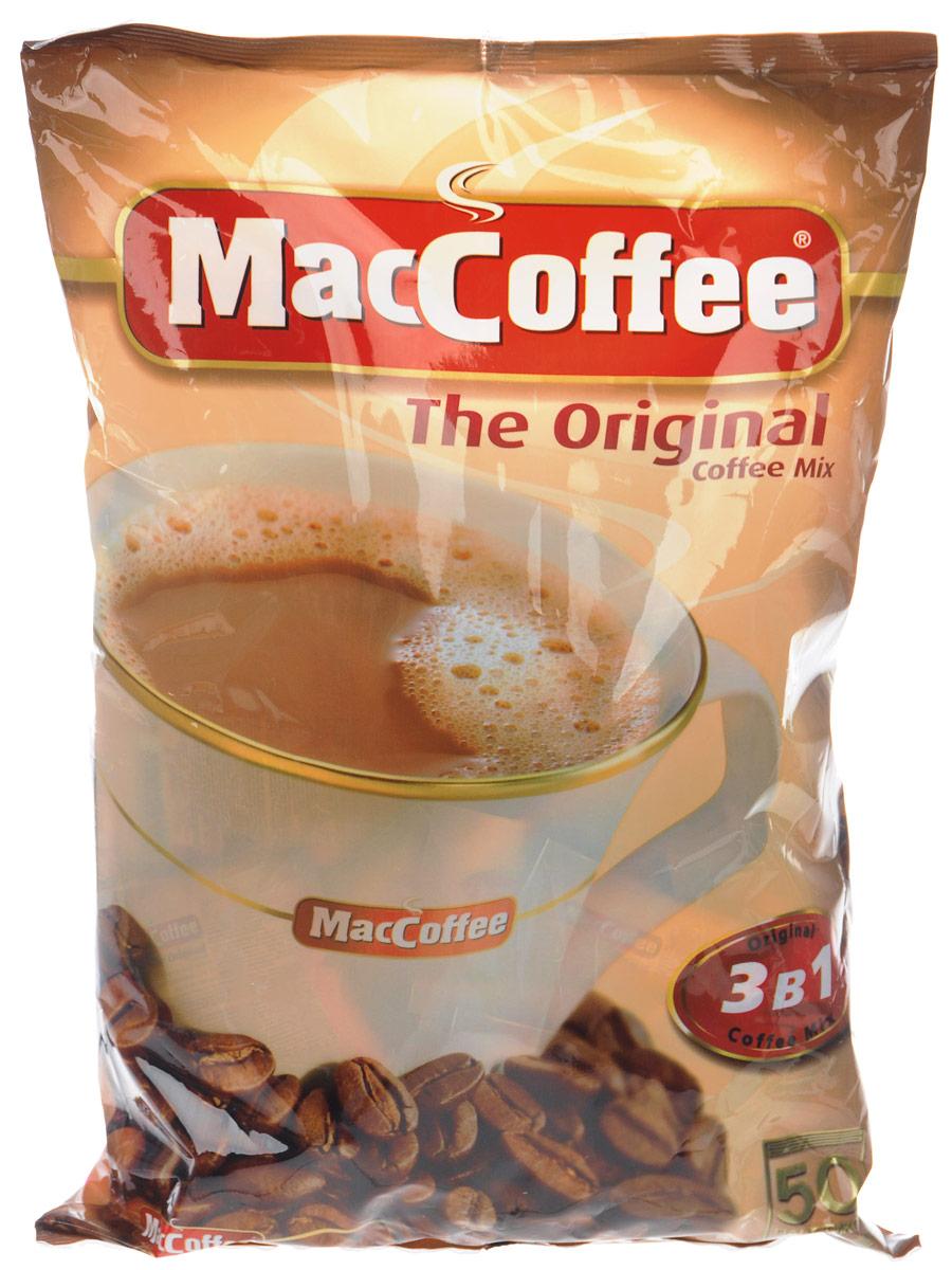 МасСoffee кофейный напиток 3 в 1, 50 шт