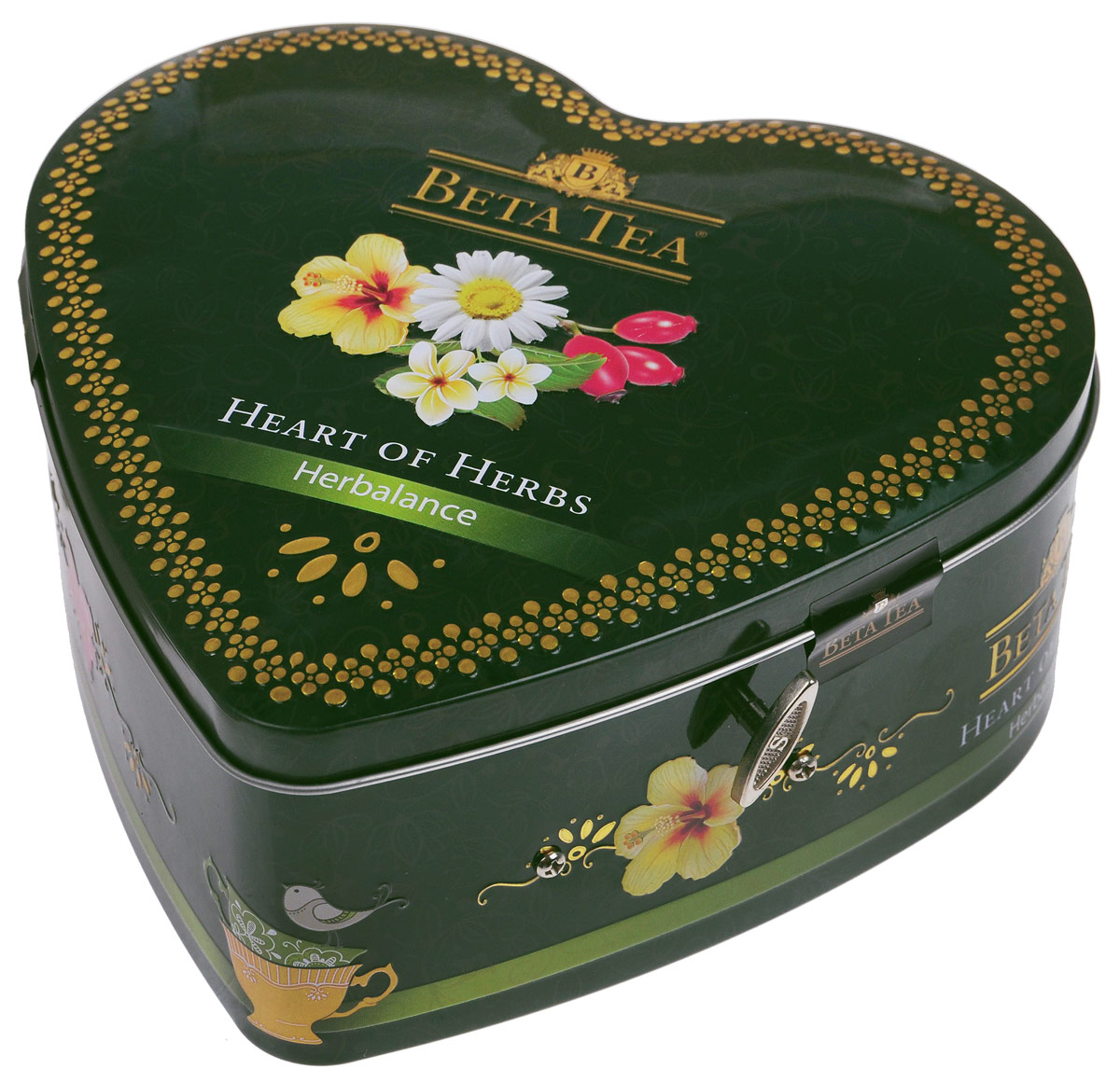 Beta Tea Травяной чай в пакетиках, 40 шт (музыкальная шкатулка)101246Сама природа подарила нам чайный набор Бета Травяной. Необычайно мягкие, бесконечно длящиеся вкусы чая Бета Травяной являются прекрасным средством профилактики от стресса. С каждым глотком сила чая дает ощущение блаженного спокойствия и душевного равновесия.В состав входят:Бета Чай Травяная композиция с ромашкой. 10 пакетиков по 1,5 г.Бета Чай Травяная композиция с шиповником. 10 пакетиков по 2 г.Бета Чай Травяная композиция Слимфит. 10 пакетиков по 2 г.Бета Чай Травяная композиция с каркадэ. 10 пакетиков по 2 г.