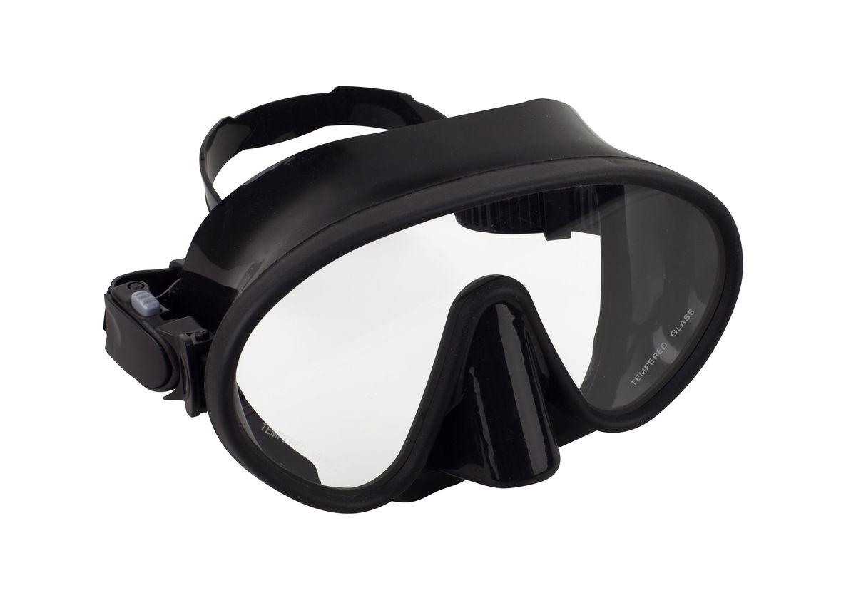 Маска для плавания WAVE, цвет: черный. M-13288-10818B353-B353Маска для плавания WAVE имеет низкопрофильный дизайн и широкий угол обзора практически на 180 градусов (увеличение периферического зрения)Линзы из закаленного стеклаДвухслойный обтюратор маски из гипоалергенного мягкого пластика, препятствует проникновению воды внутрь маскиРегулируемый пластиковый ремешок, препятствует скольжениюМатериал: пластик (PVC) Ширина оправы маски: 16,2 x 7 x 10,8 см