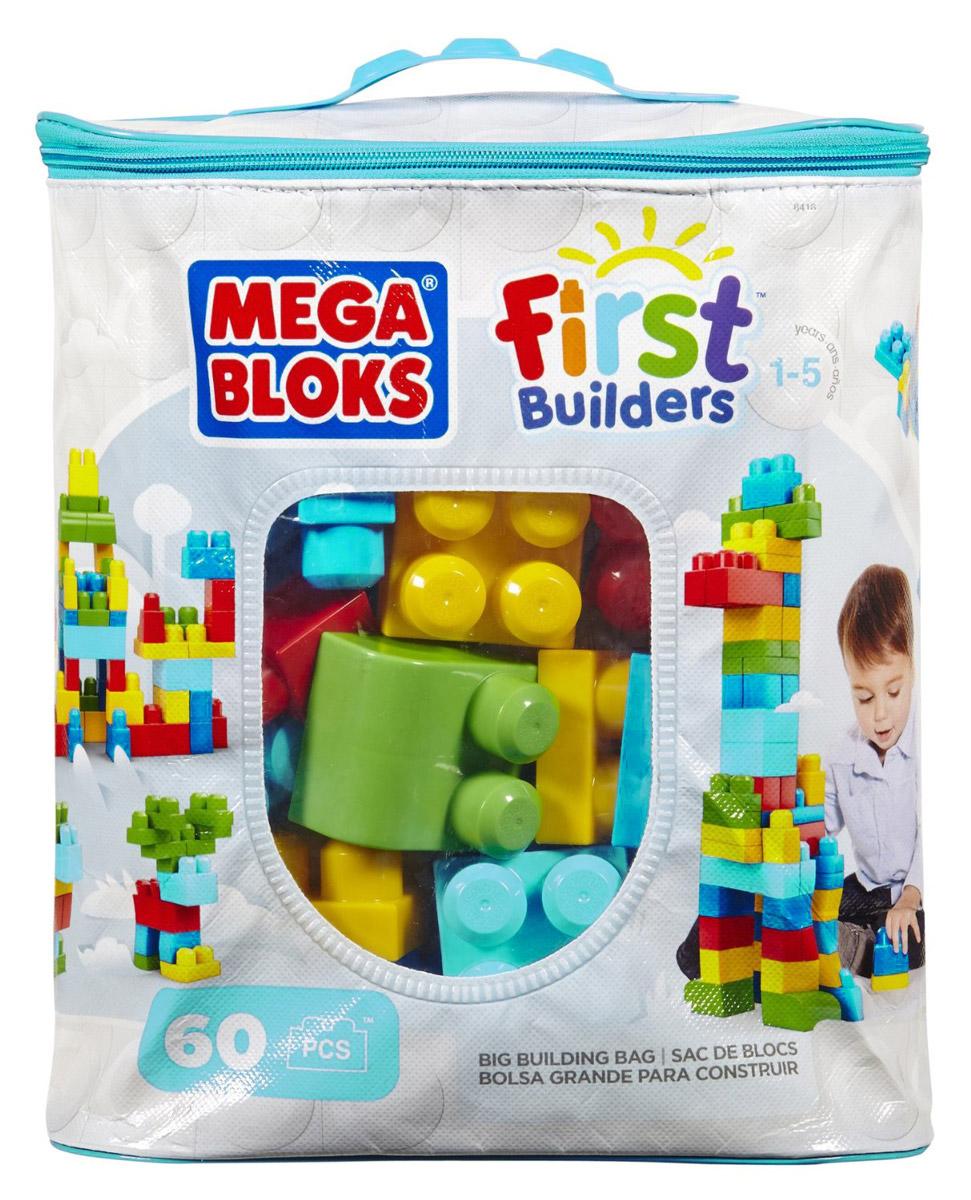 """Конструктор """"Mega Bloks First Builders"""" порадует вашего ребенка яркими цветами. Большие блоки конструктора подходят для постройки замков, в которых могут развернуться различные приключения. Набор состоит из 60 блоков. После игры все детали можно убрать в удобную сумку с застежкой! Конструктор предназначен специально для самых маленьких строителей. Играя с конструктором, малыш отлично разовьет мелкую моторику рук, координацию движений, усидчивость, воображение и фантазию, пространственное мышление, а также познакомится с такими понятиями, как цвет, форма и размер предмета."""