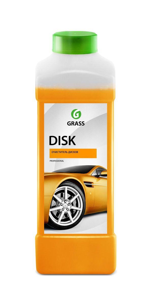 Средство для очистки колесных дисков Grass Disk, 1 лSVC-300Концентрированное кислотное моющее средство для очистки колесных дисков и других изделий из легких сплавов. Быстро и эффективно удаляет с пыль от тормозных колодок, сажу, ржавчину, нефтепродукты, смолы и другие дорожные загрязнения. Разводится с водой из расчета 200-500г/л.